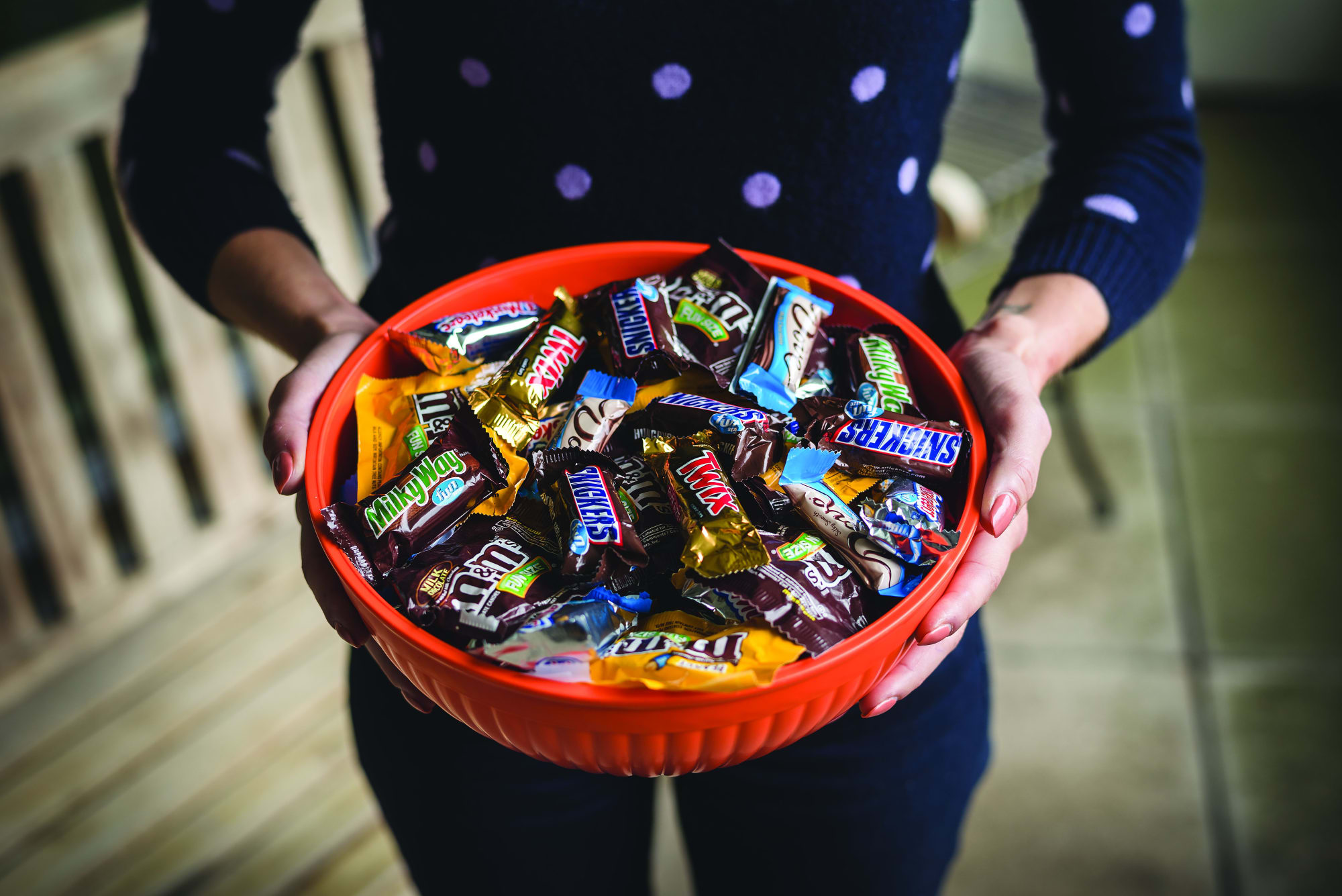 Which Halloween candy do parents steal the most?