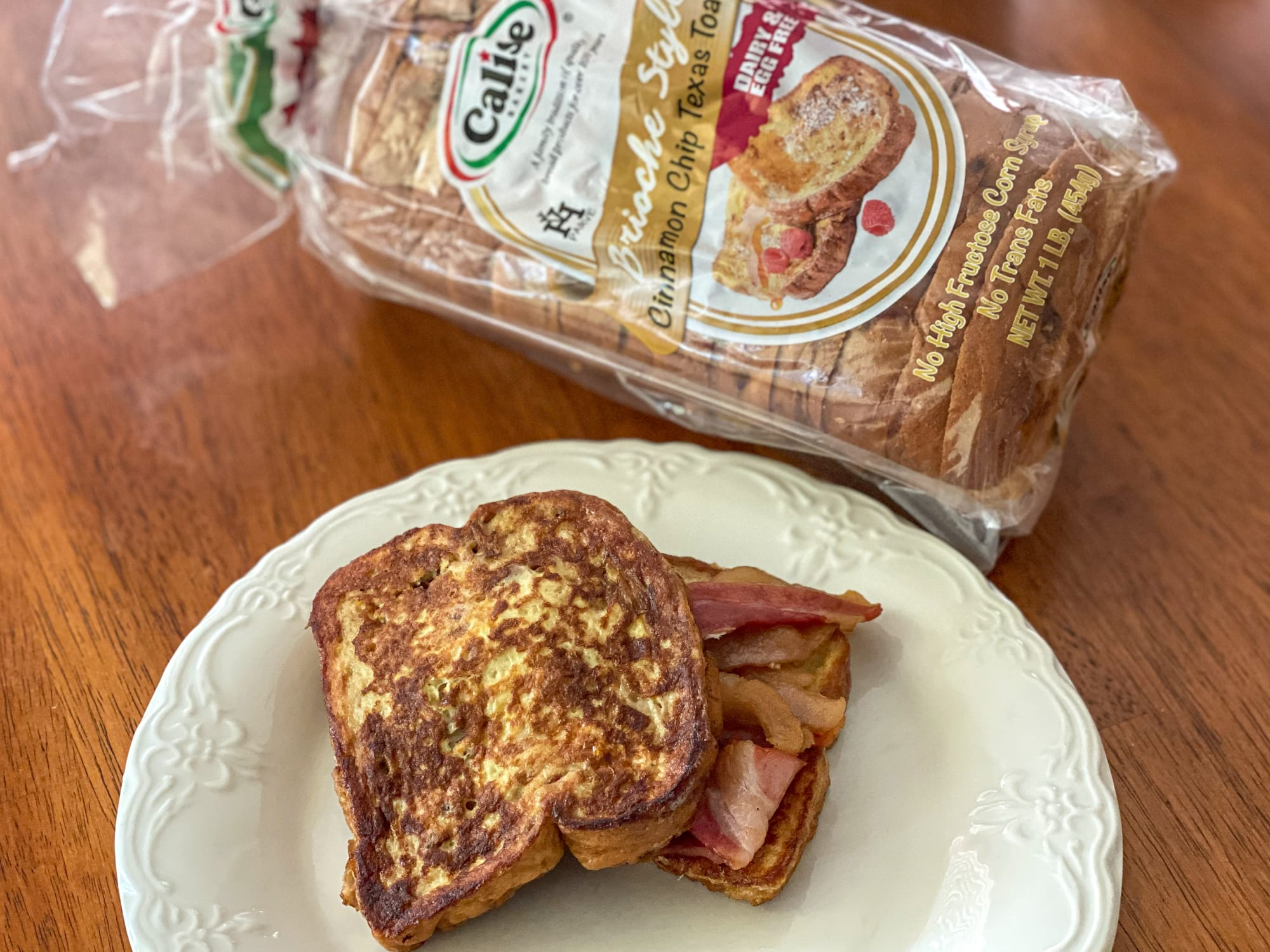 Cinnamon Chip French Toast Sandwich recipe is breakfast perfection