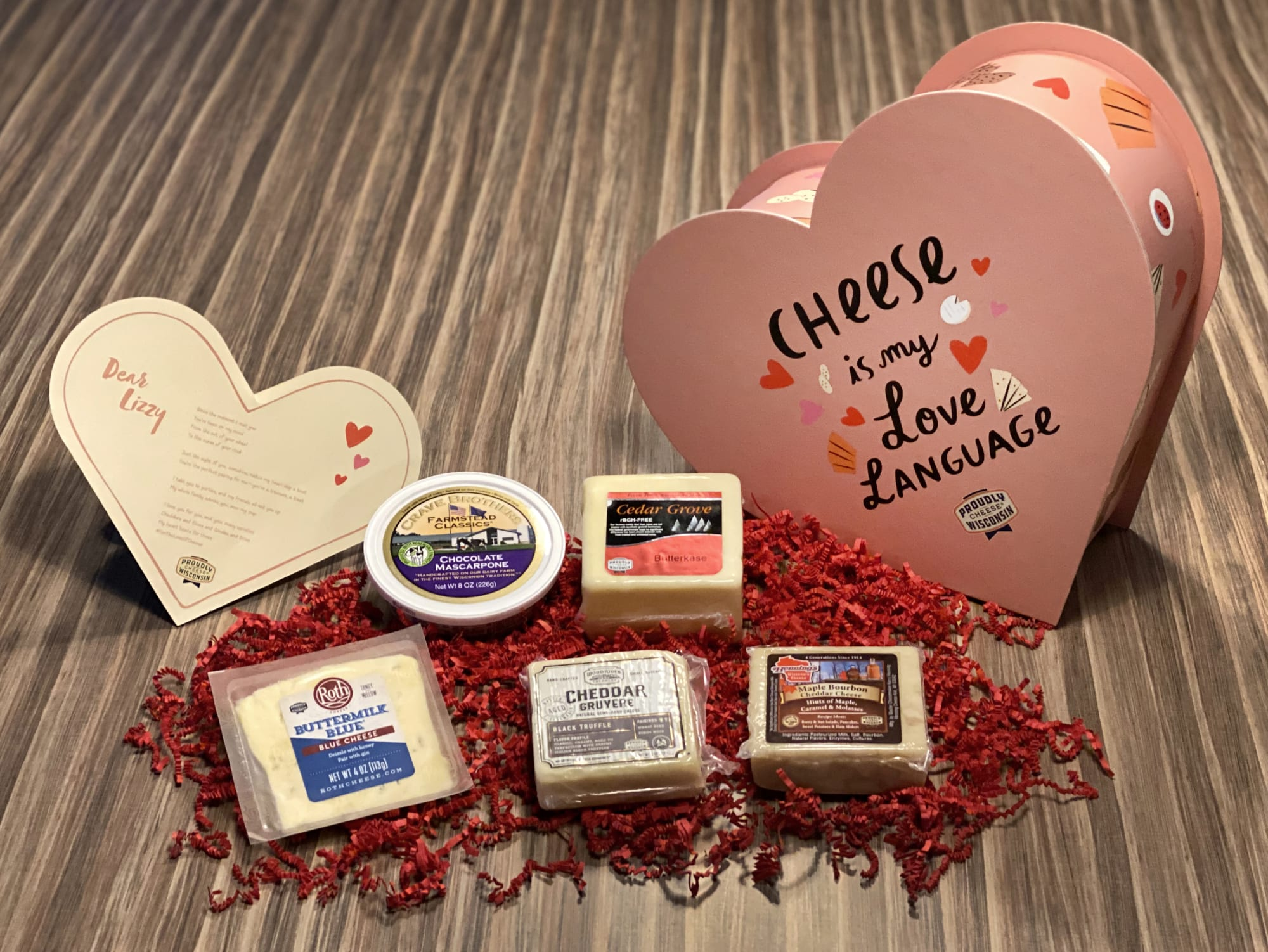 Wisconsin Cheese believes cheese is the universal love language