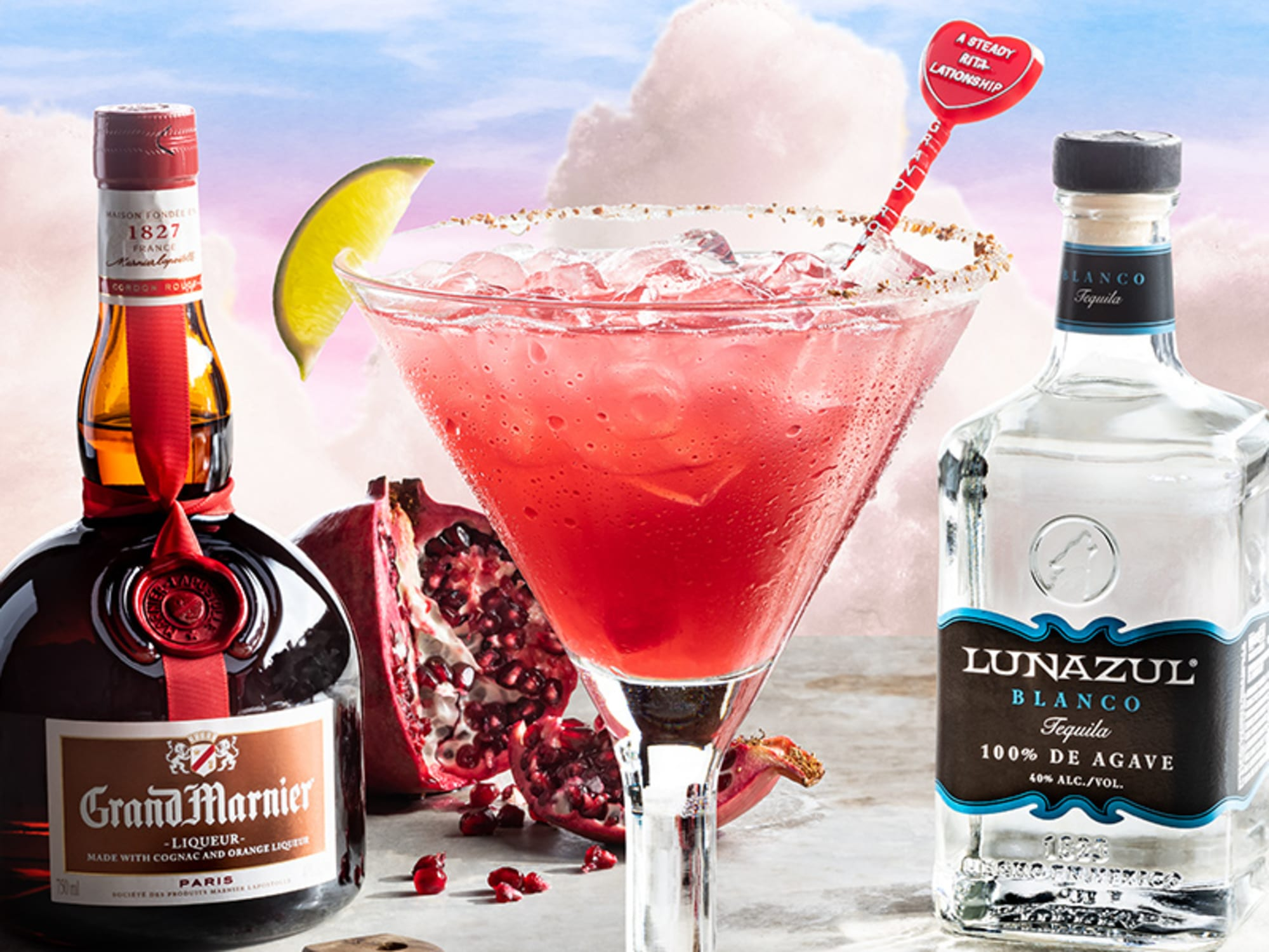 Chili S Margarita Of The Month For February Is A Grand Romance