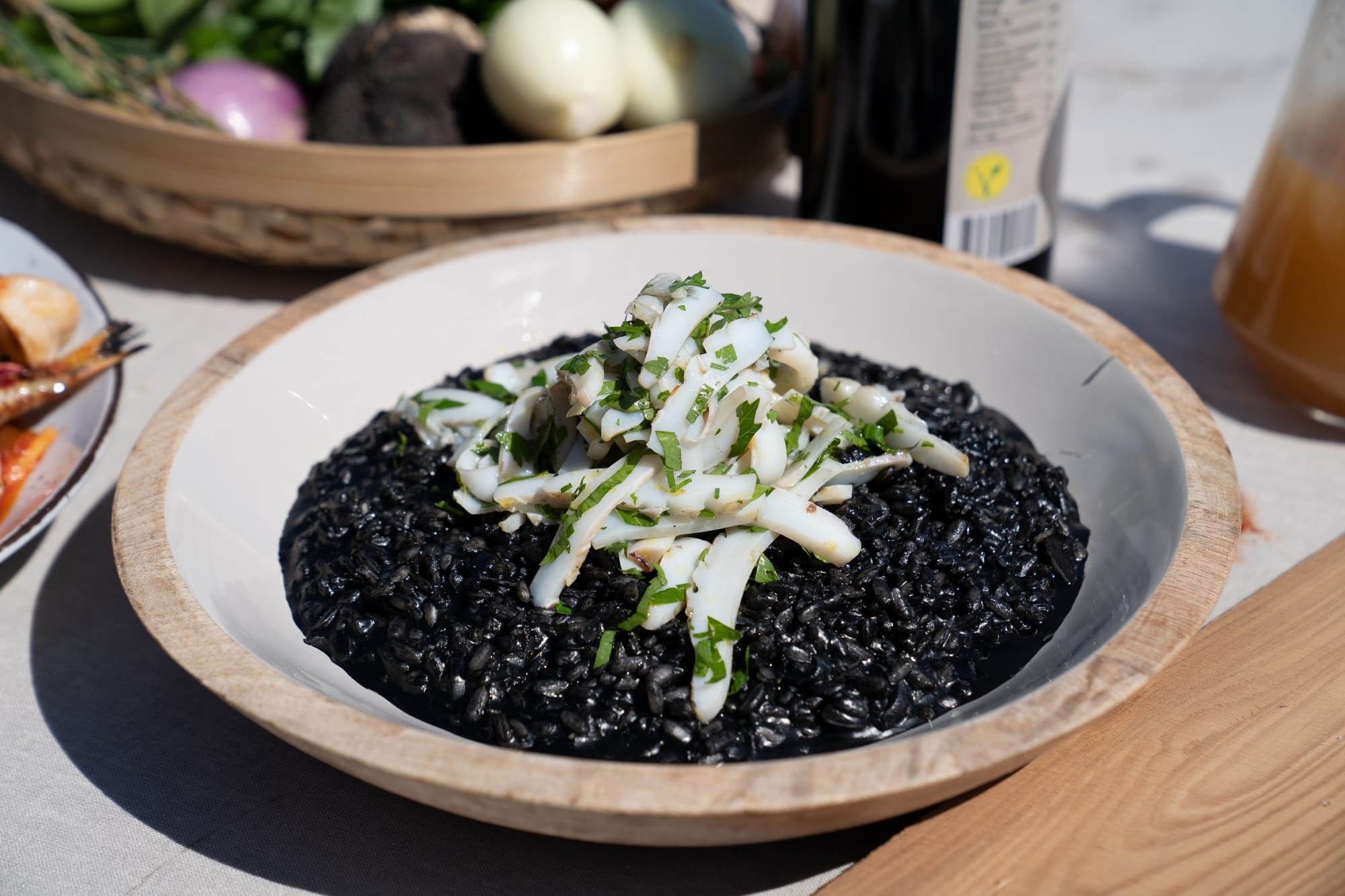 Black Risotto recipe is a highlight of Croatian coastal cuisine