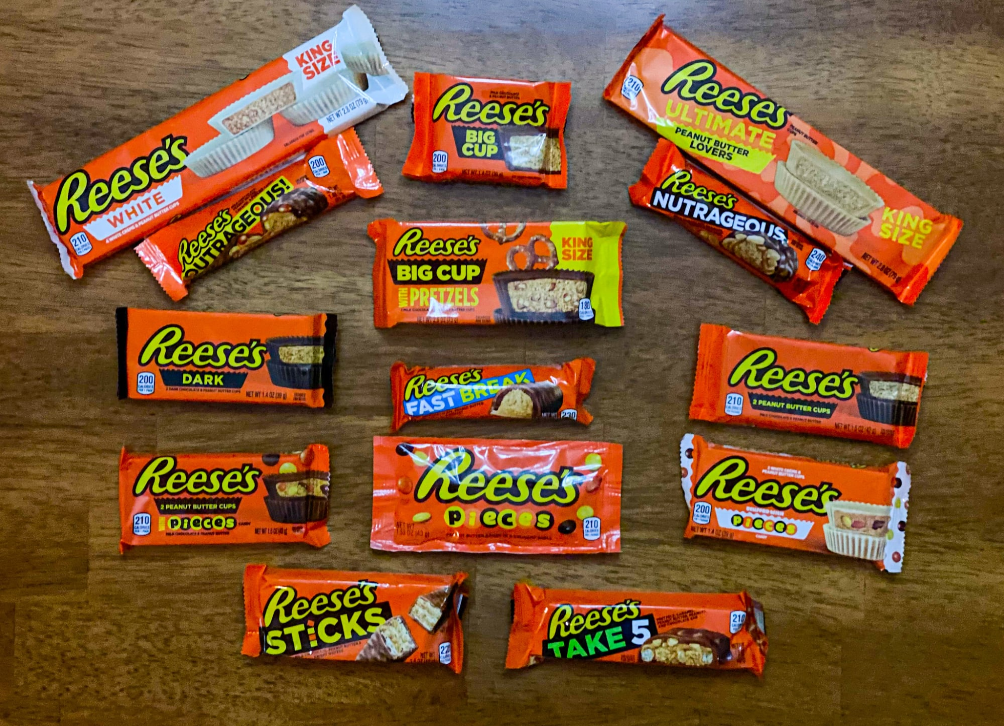 Ultimate Reese's candy ranking list celebrates the iconic candy