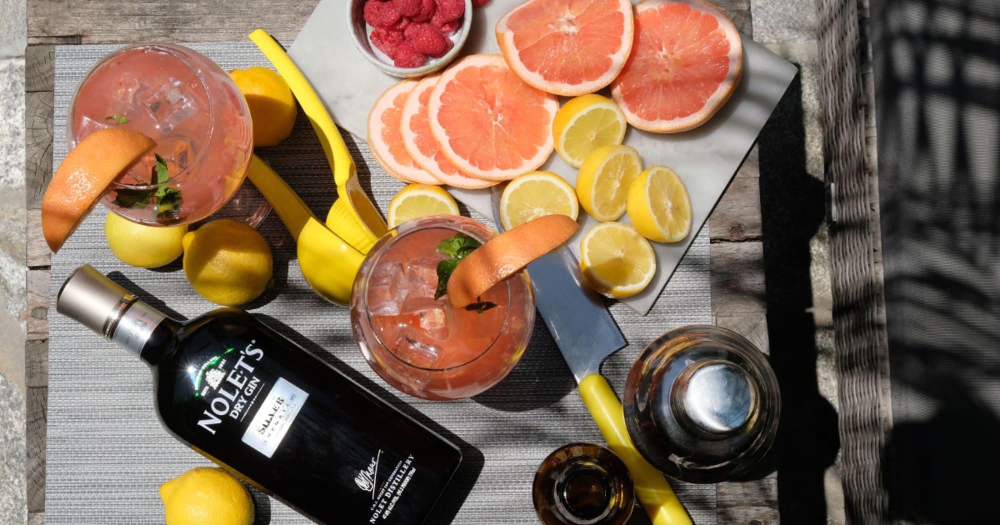 NOLET's Silver gin cocktails celebrate modern, fruity, fresh flavors