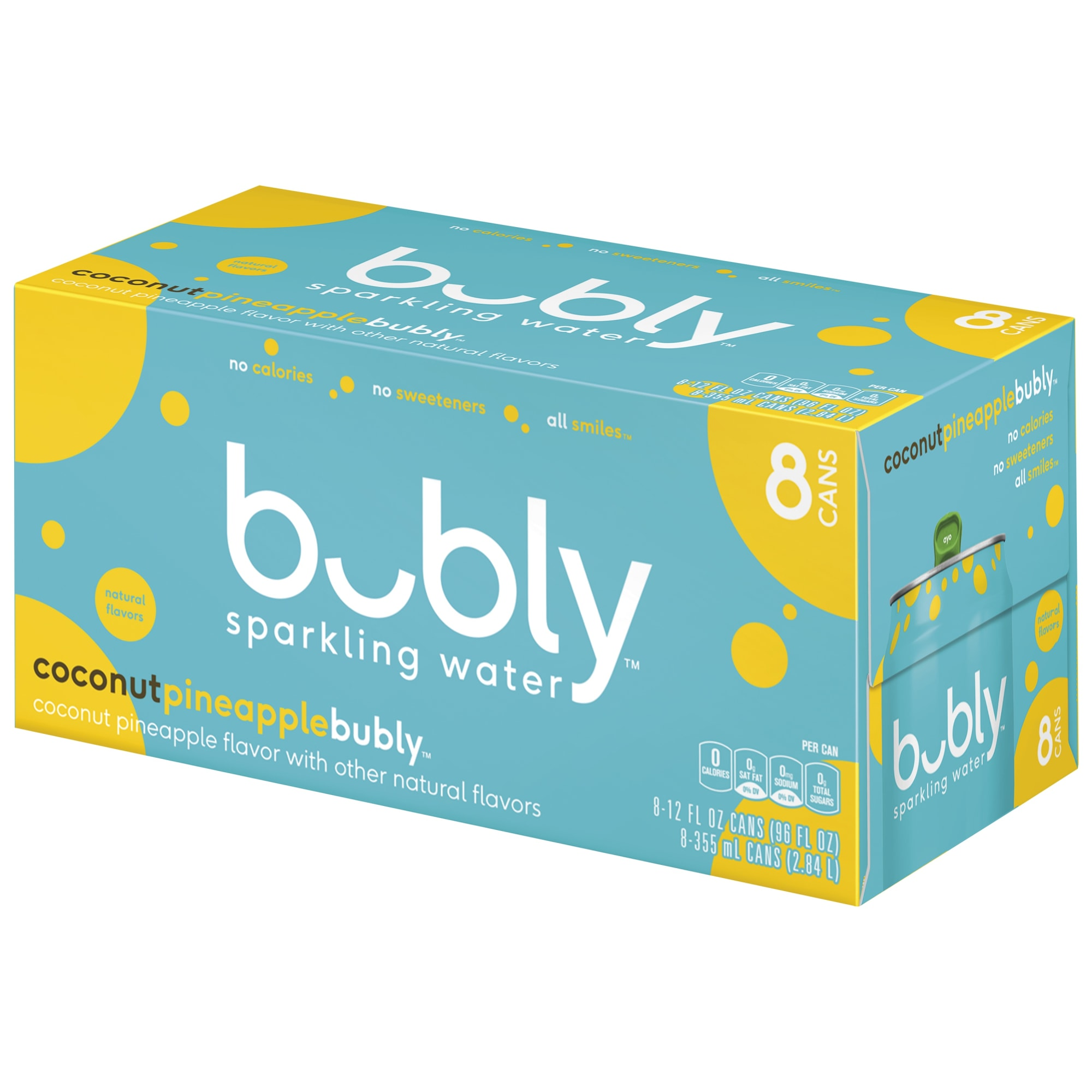 New bubly coconut pineapple brings tropical flavors to summer beverages