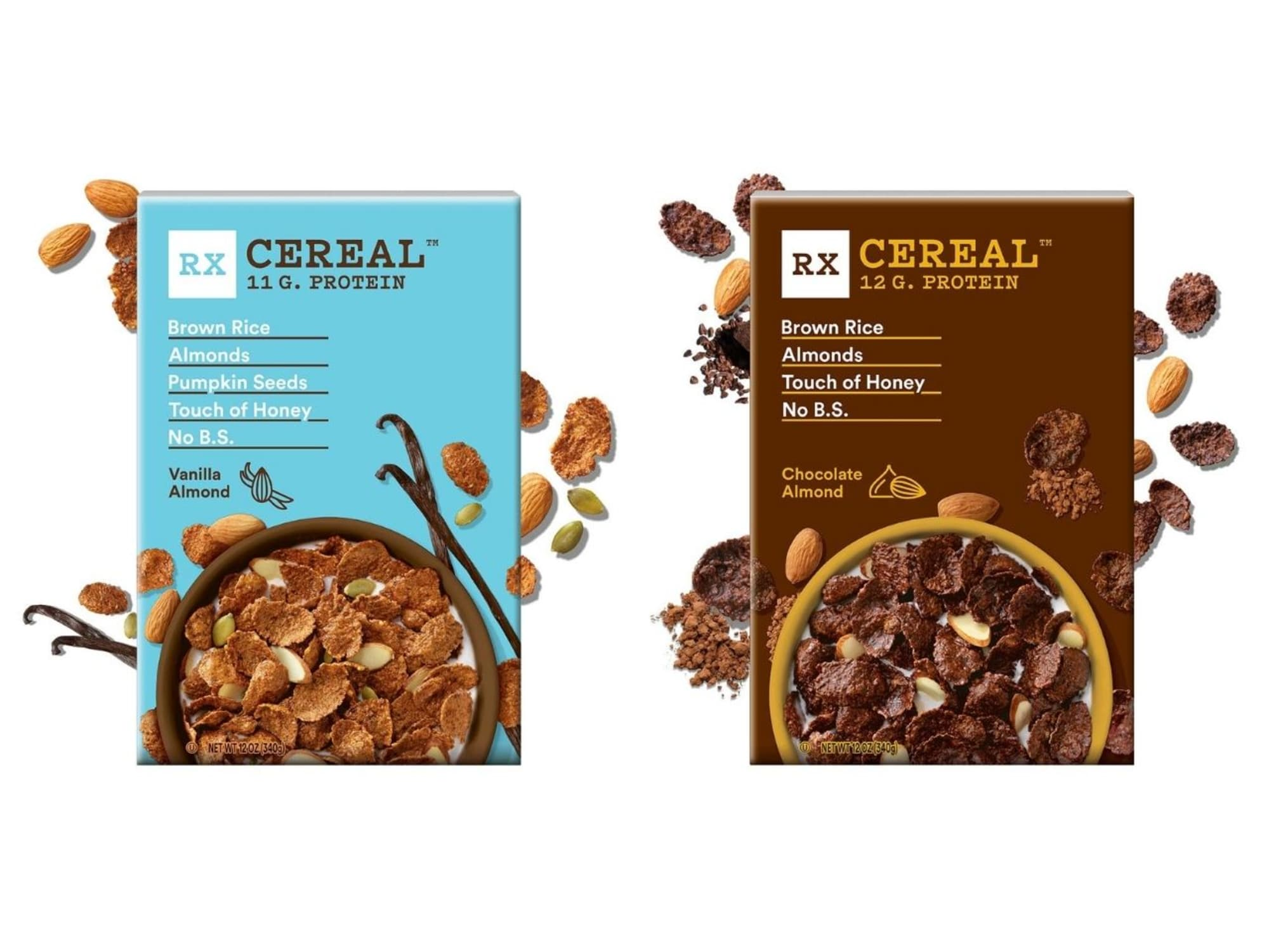 RX Cereal only puts the good stuff into the cereal bowl