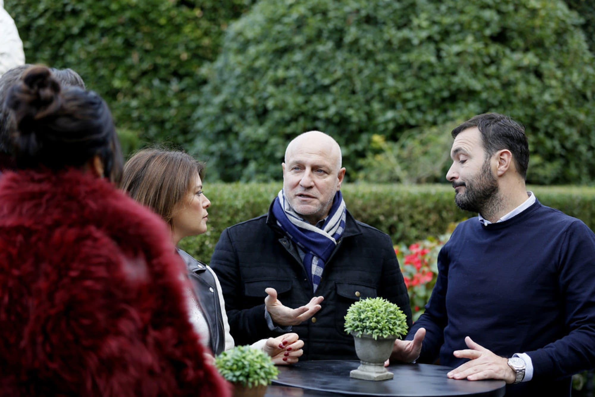 Tom Colicchio shares a heartfelt message about filming Top Chef in Italy, exclusive clip