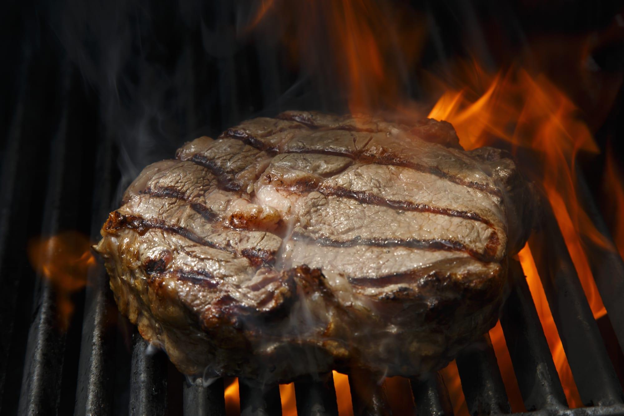 Steak sauce makes grilled steak sizzle
