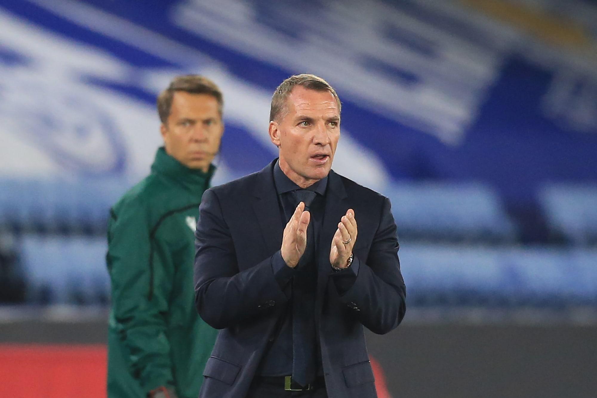 Leicester: Brendan Rodgers provides injury update on Jamie Vardy