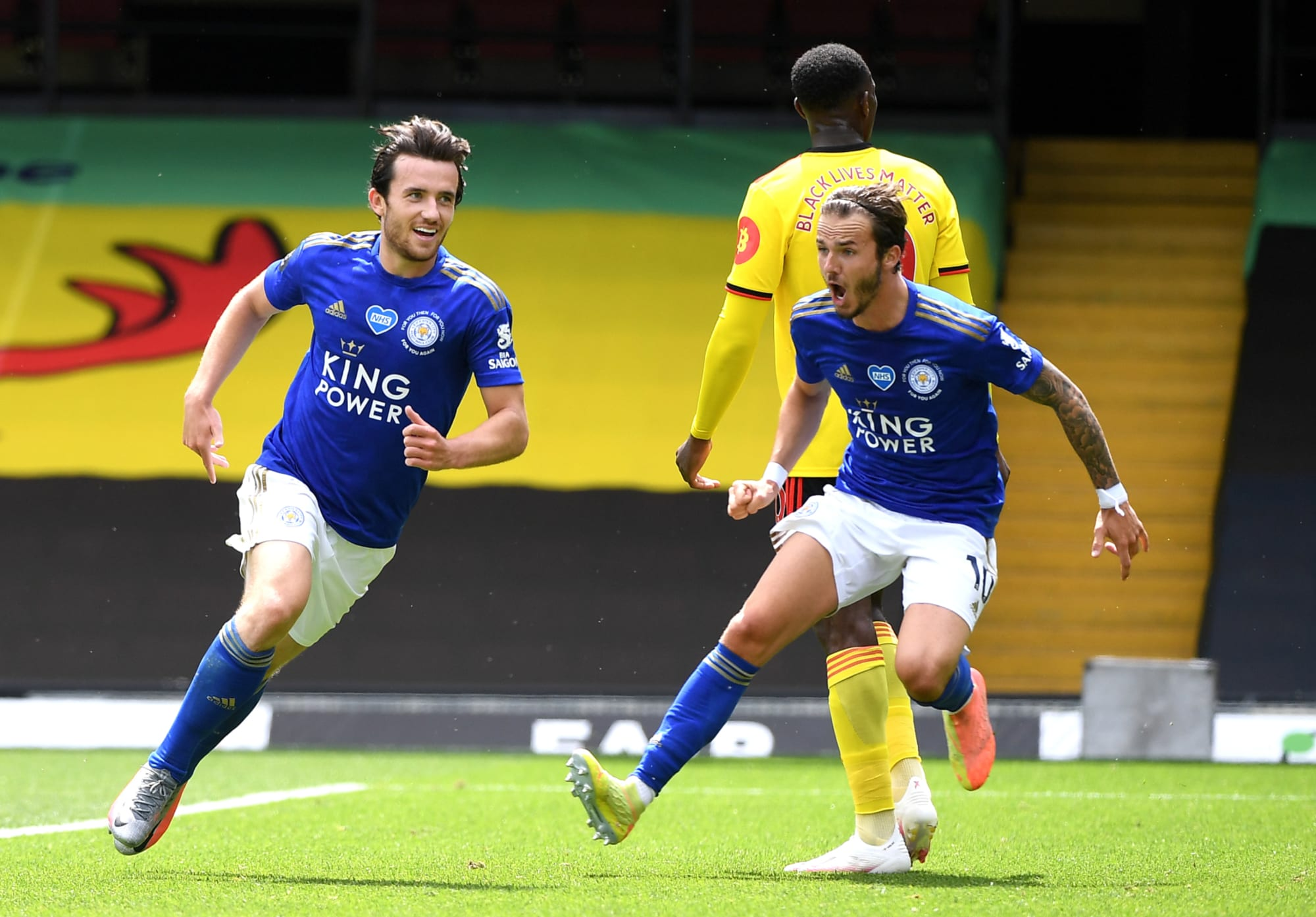 Leicester injury news on Ben Chilwell and James Maddison