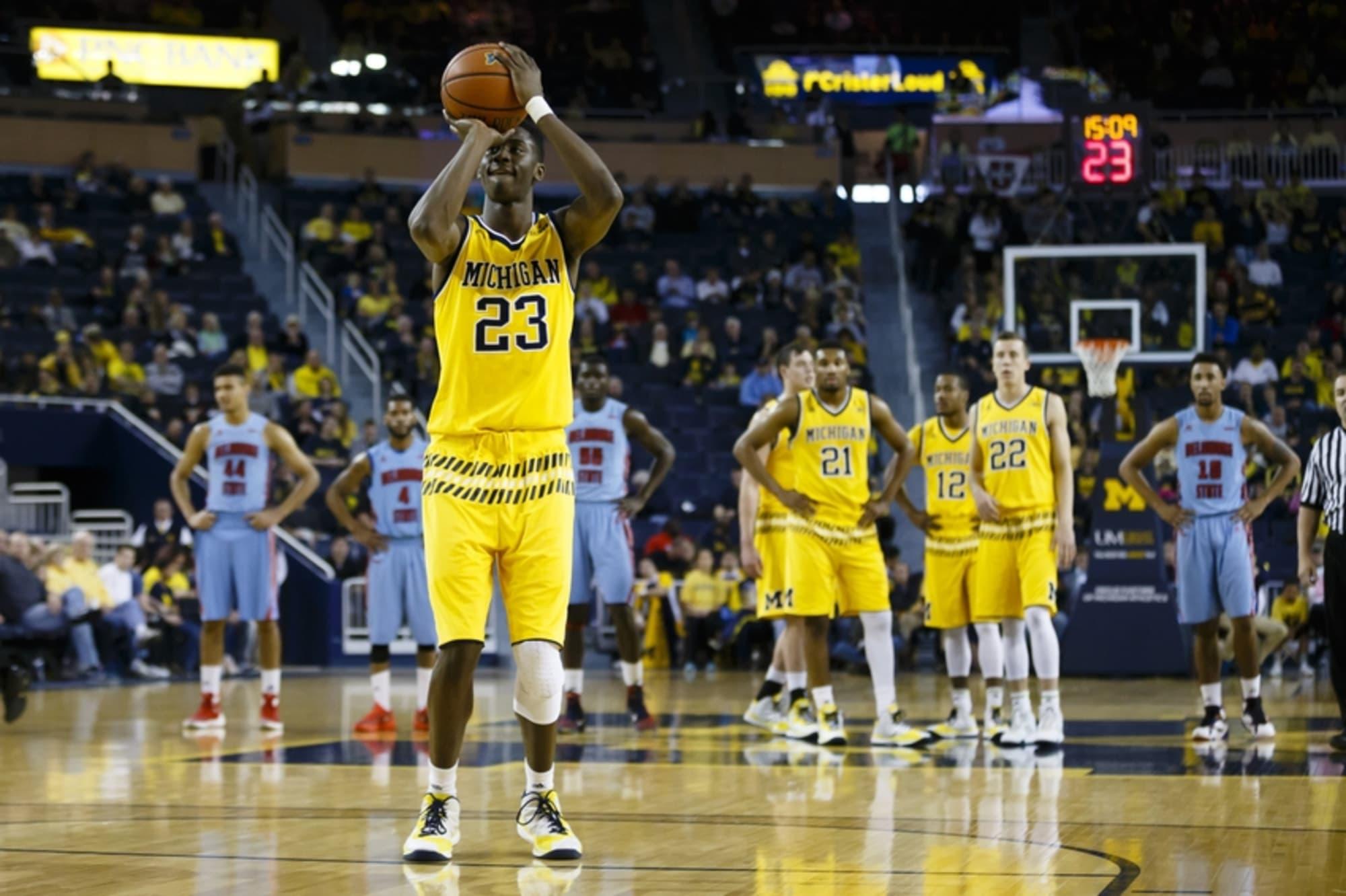 Michigan Basketball Caris Levert Not Ready To Play