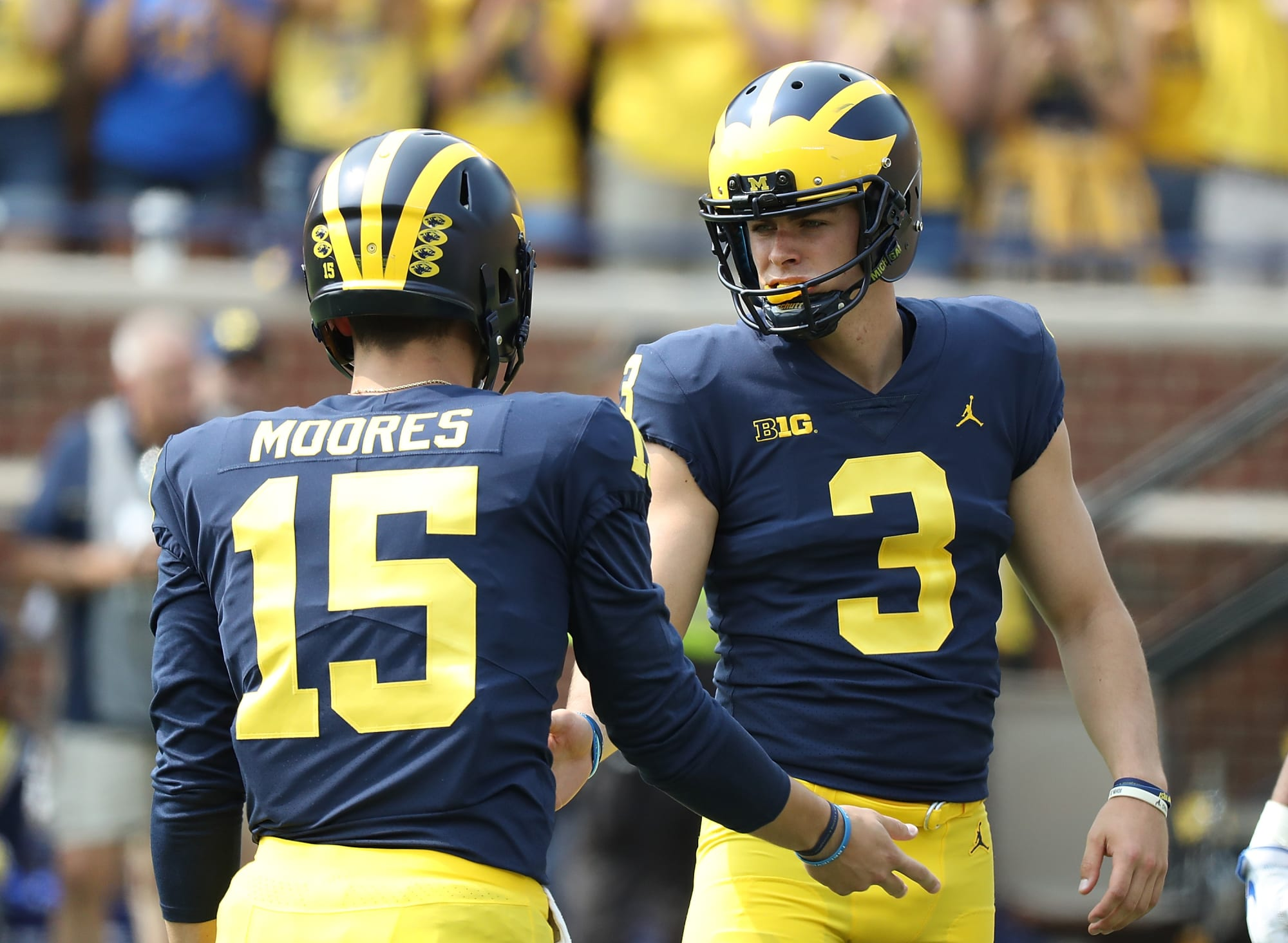 Michigan Football Good News Bad News From The Air Force Game