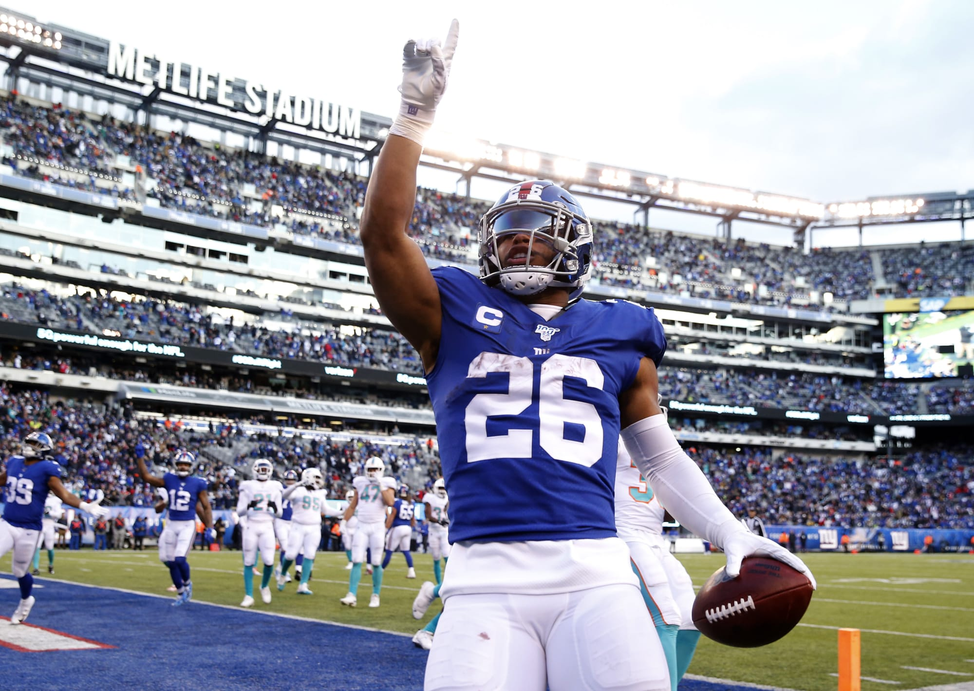 What makes NY Giants' Saquon Barkley special? His former teammate weighs in