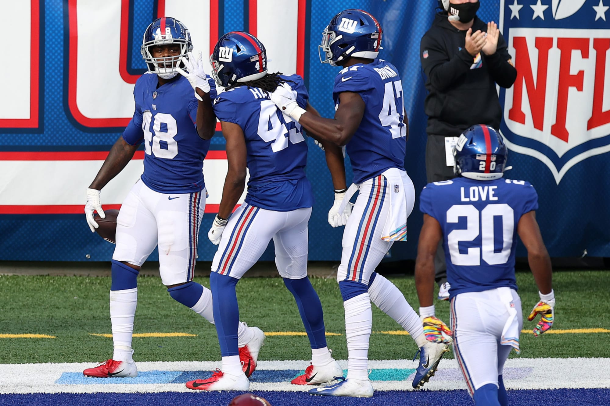 NY Giants need to get young players on the field at 3 position groups