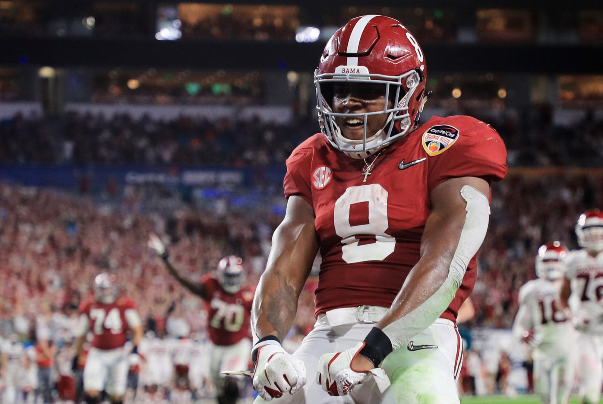 Oakland Raiders How Josh Jacobs Could Win Offensive Rookie Of The Year