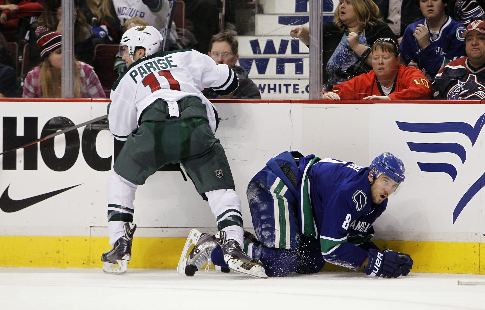 Despite Late Comeback, Wild Fall Short to Canucks in Game Two