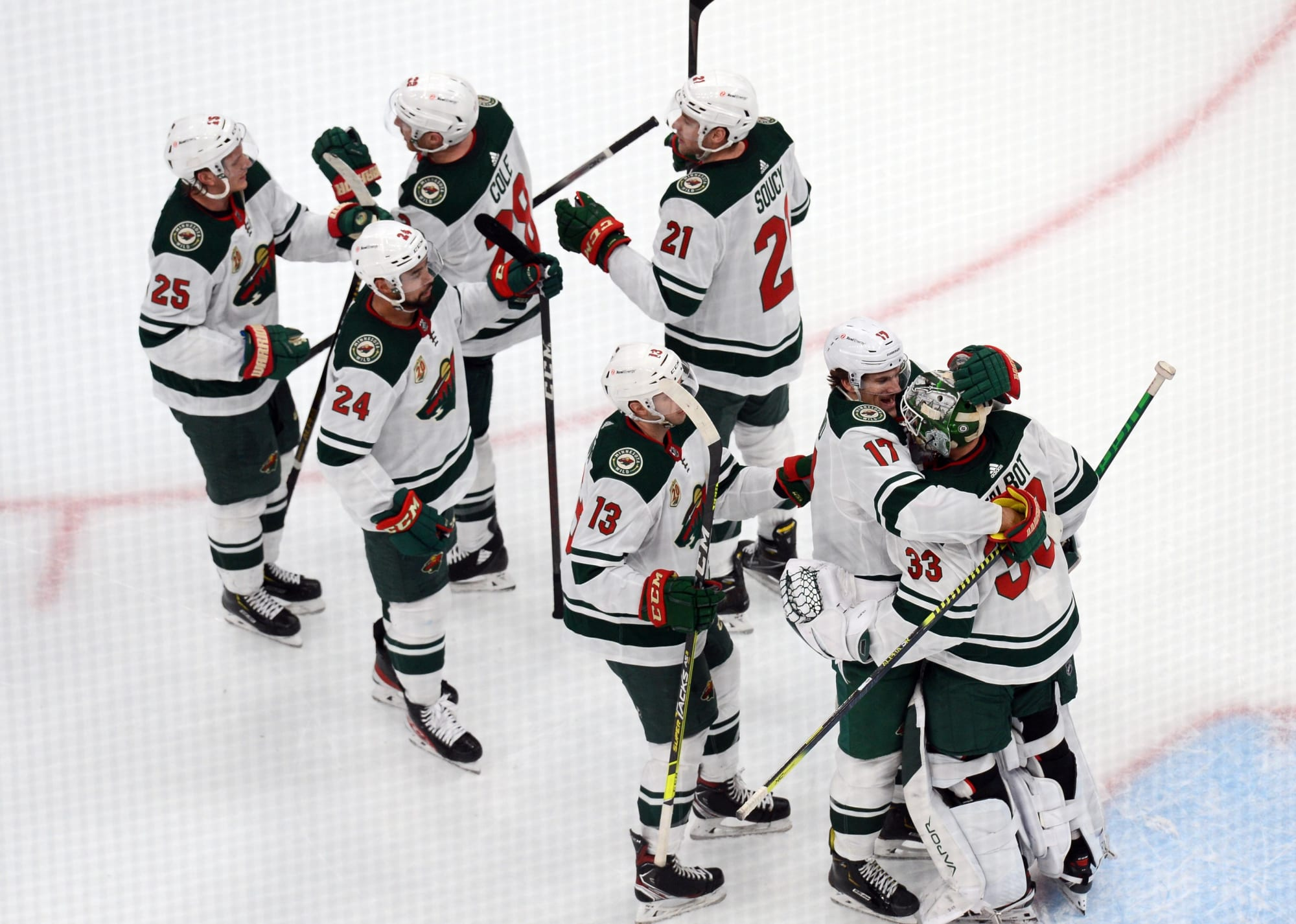 Minnesota Wild Clinch Playoff Berth With Win Over The Sharks