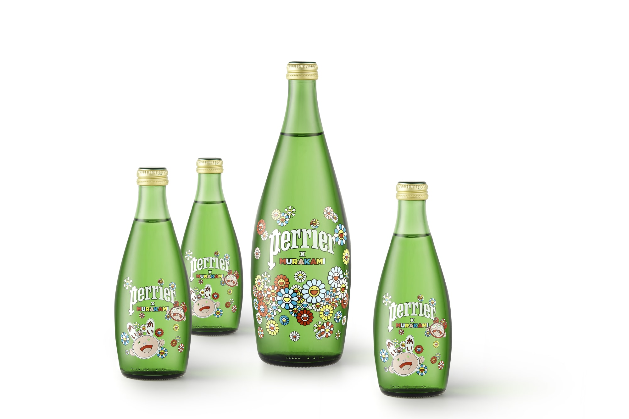 Perrier x Murakami collab: The pick-me-up beverage you need in 2020