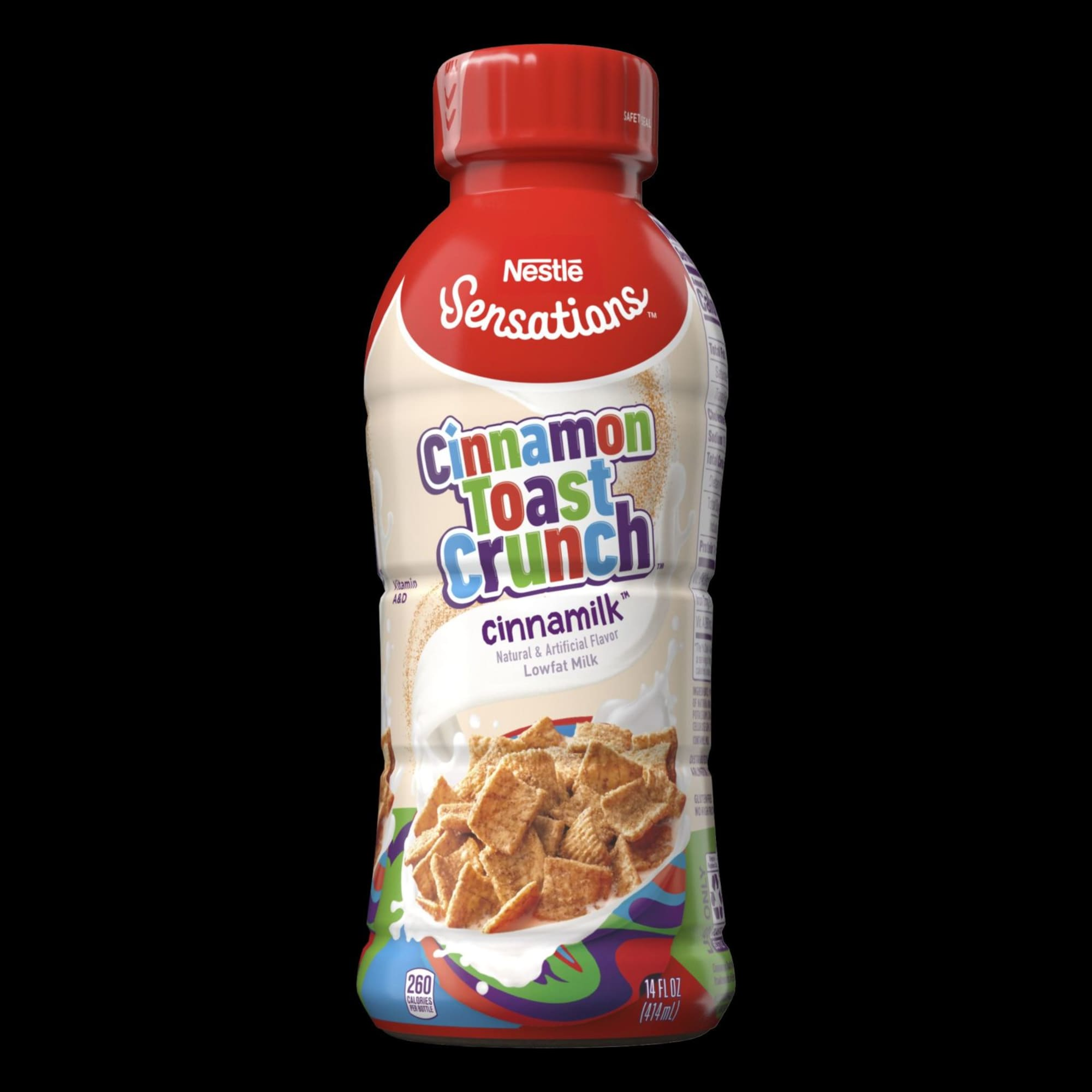 Nestle and Nesquik are giving us three new flavors of milk including a Cinnamon Toast Crunch