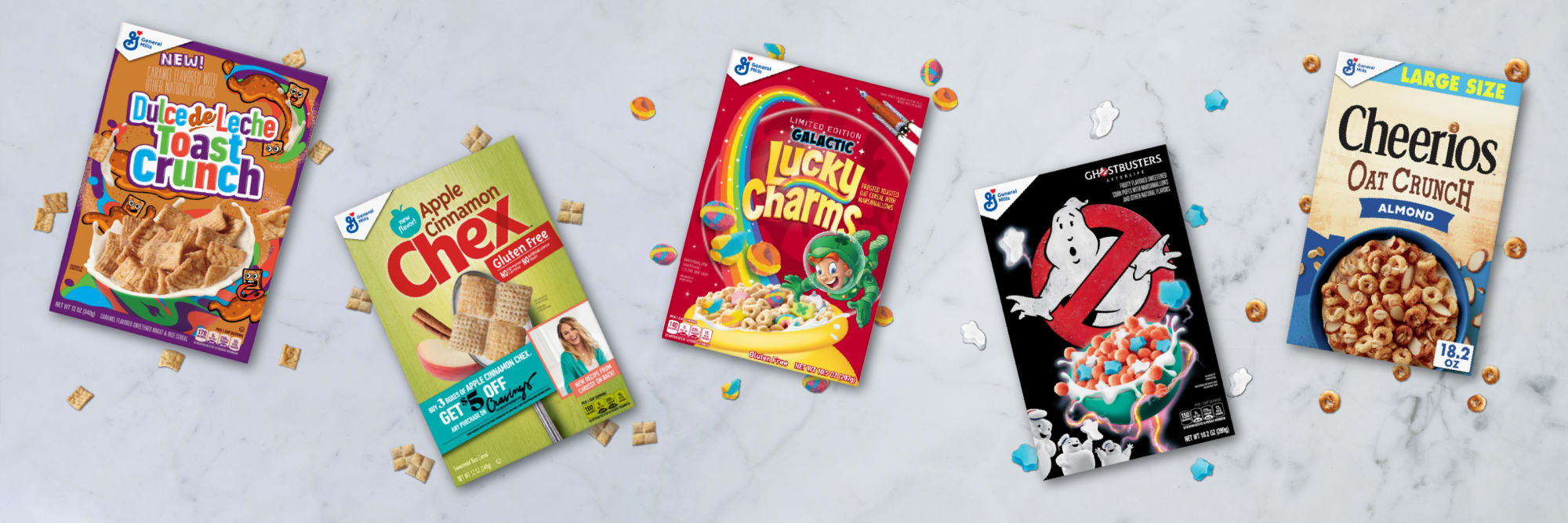 General Mills introduces 5 brand new cereals