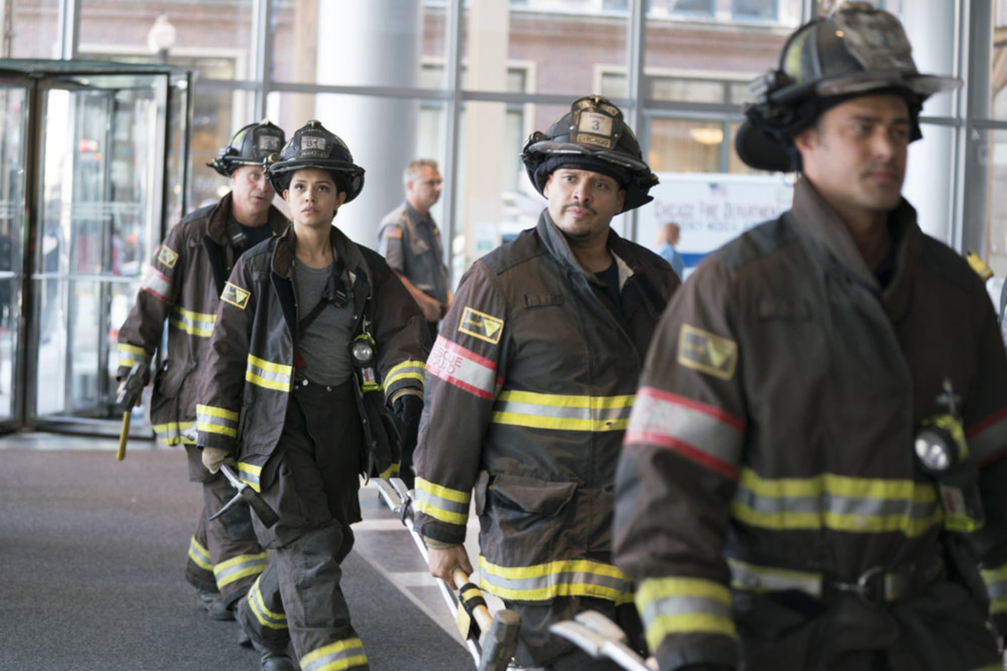 Chicago Fire Season 7 premiere recap: Who's playing chess with Otis?