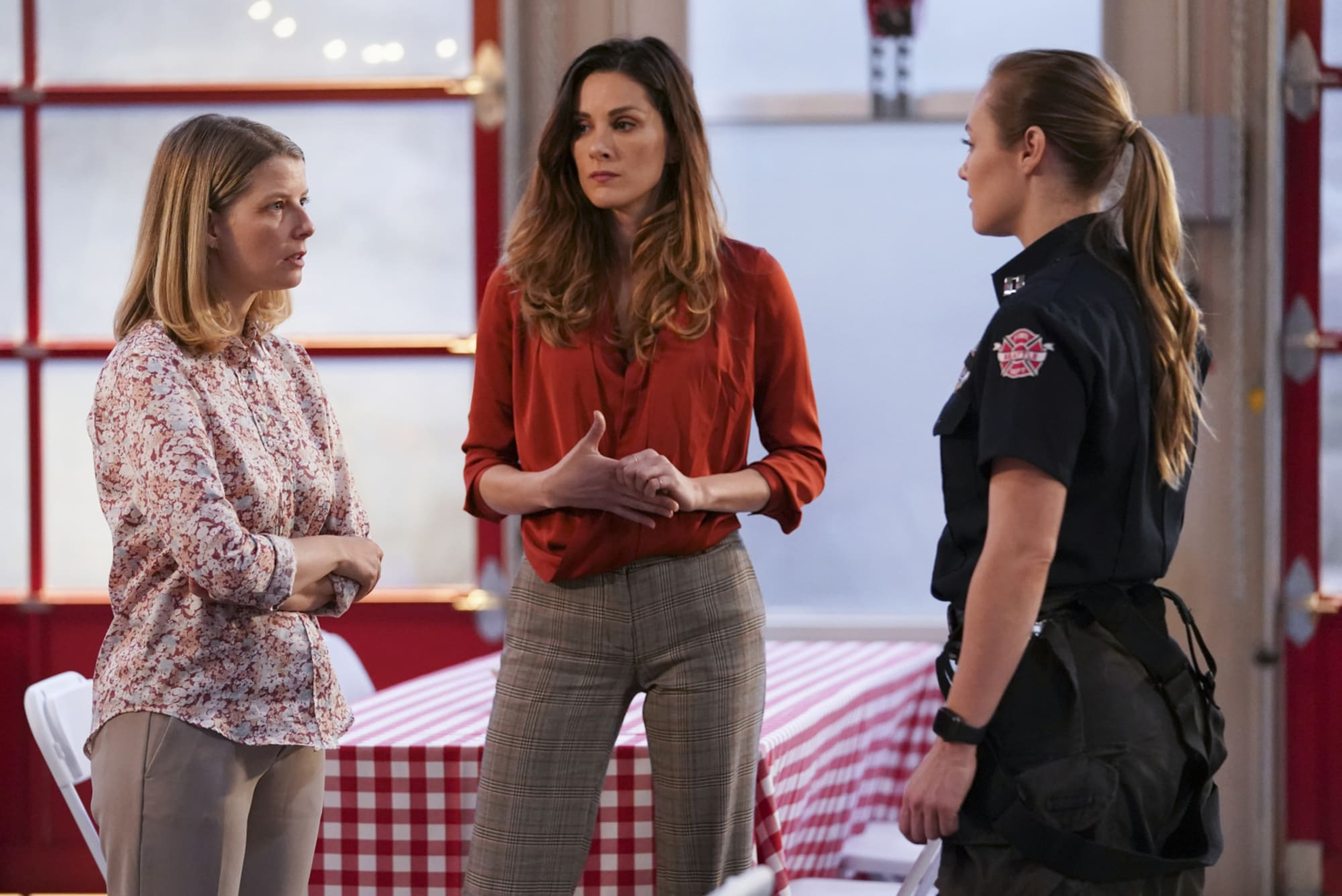 Station 19: Maya's denial because she sees her father in herself?