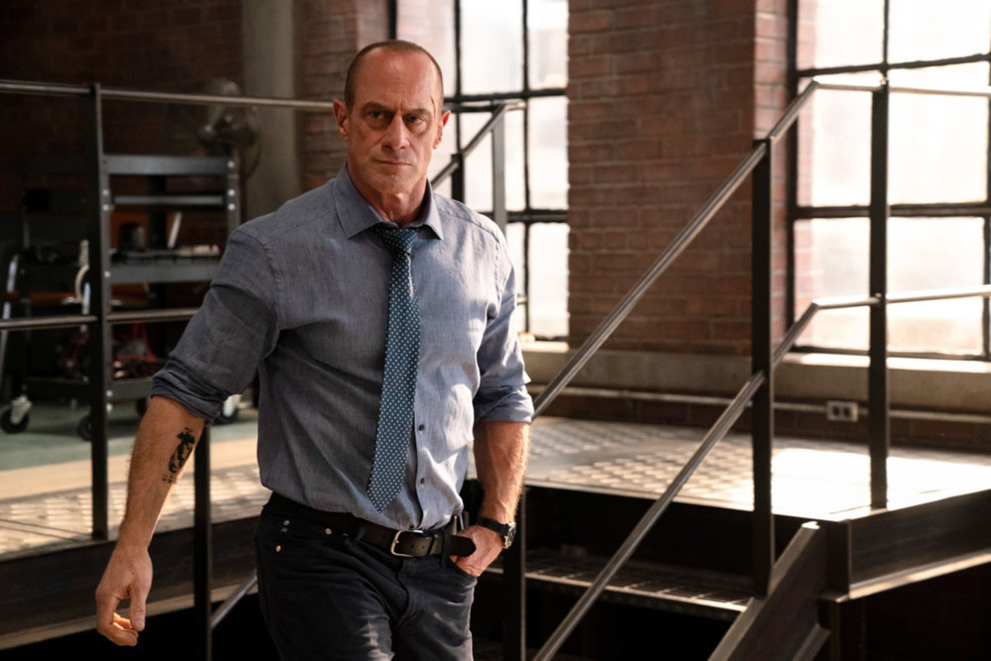 Elliot stabler happened to what Law &