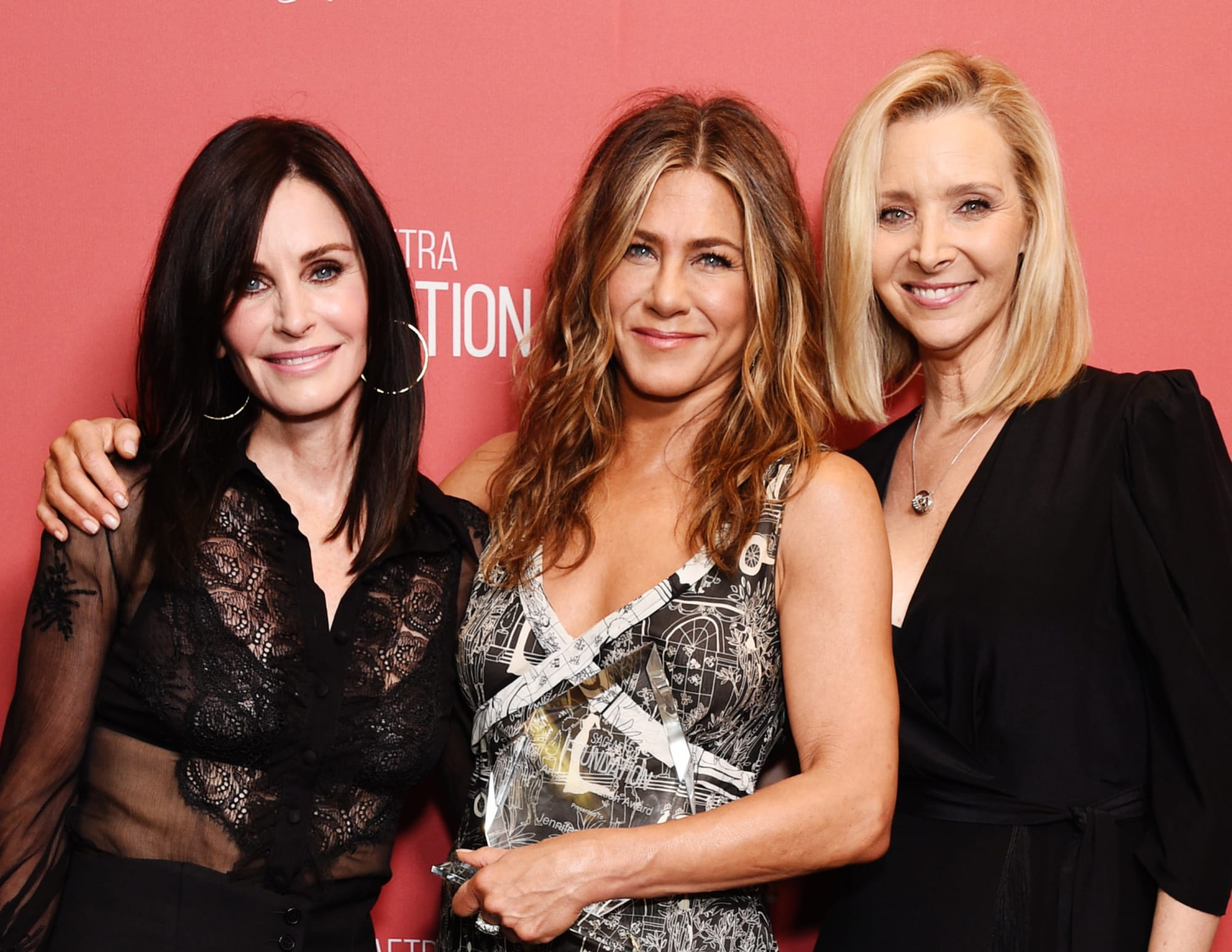 Watch the Friends ladies reunite for the Emmys