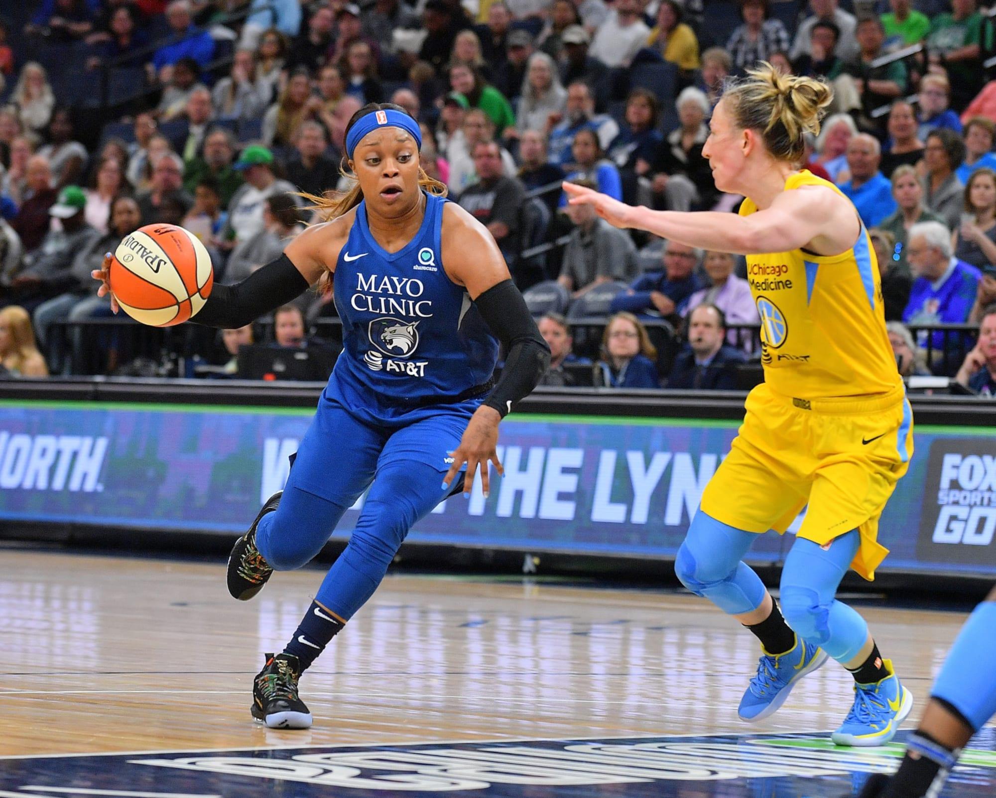 Lynx's Odyssey Sims discusses parenthood, WNBA