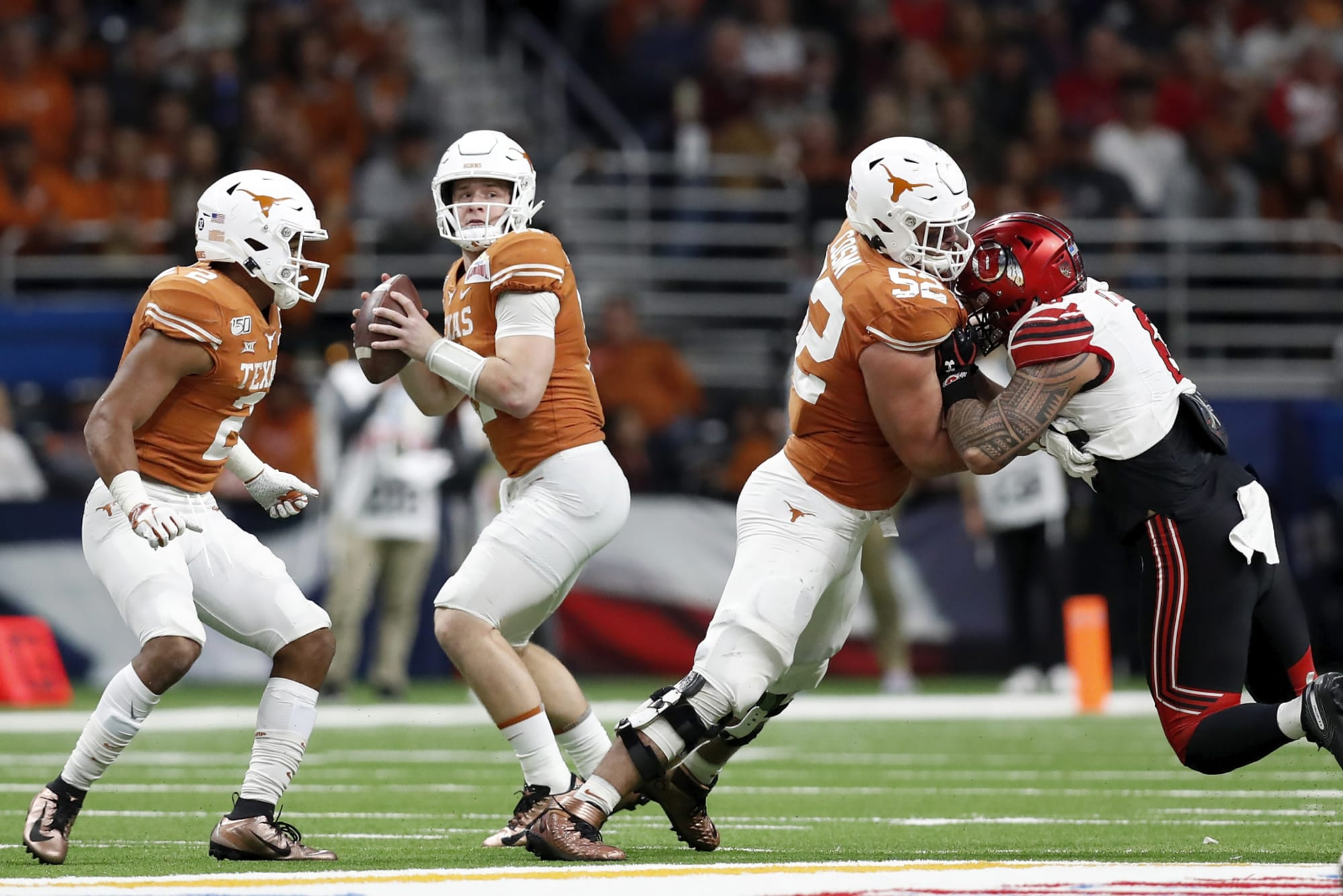 Texas Football What Record Cbs Sports Projected For Longhorns In 2020