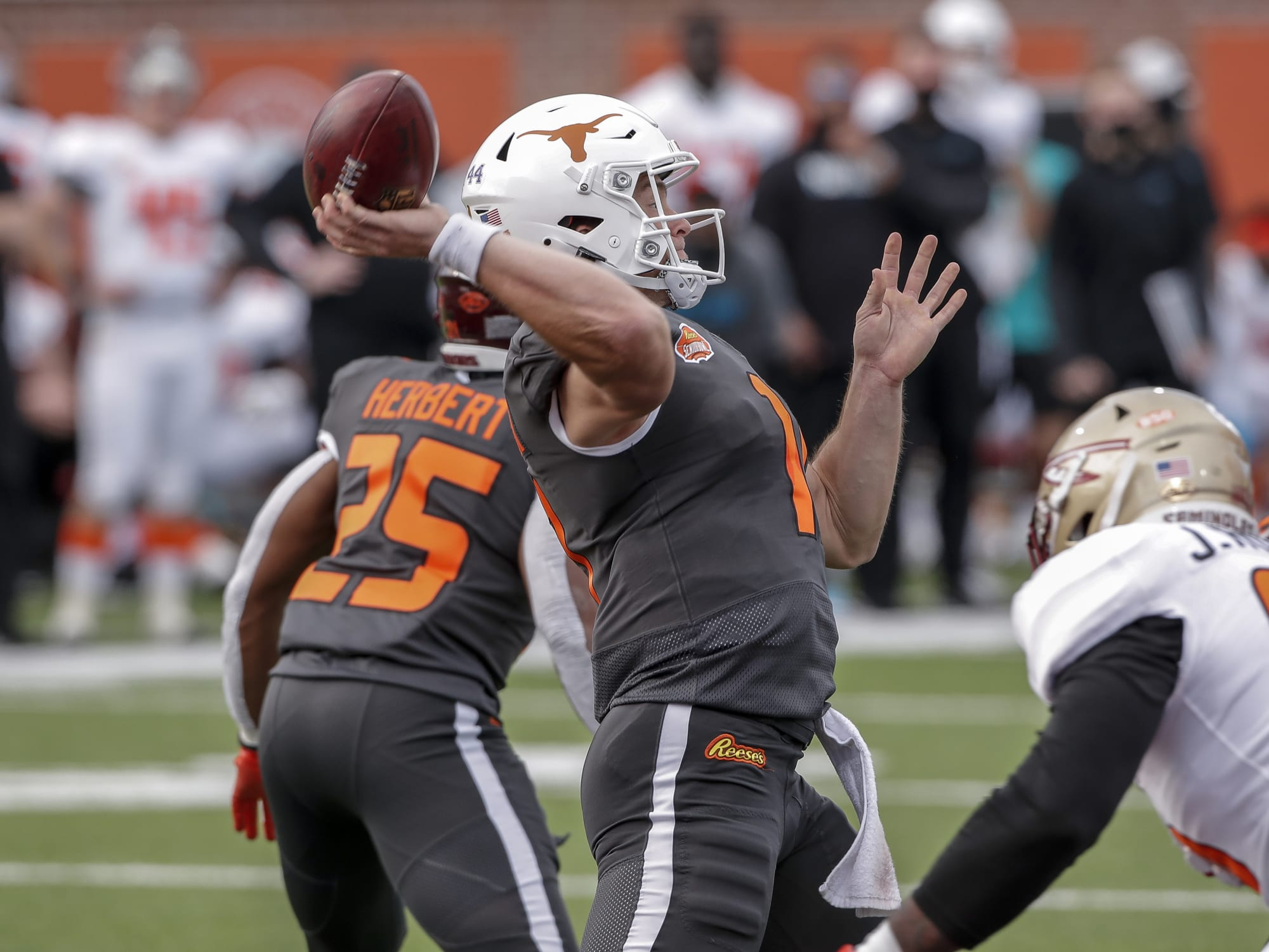 Texas Football: Colts really like Sam Ehlinger's 'poise and instincts'