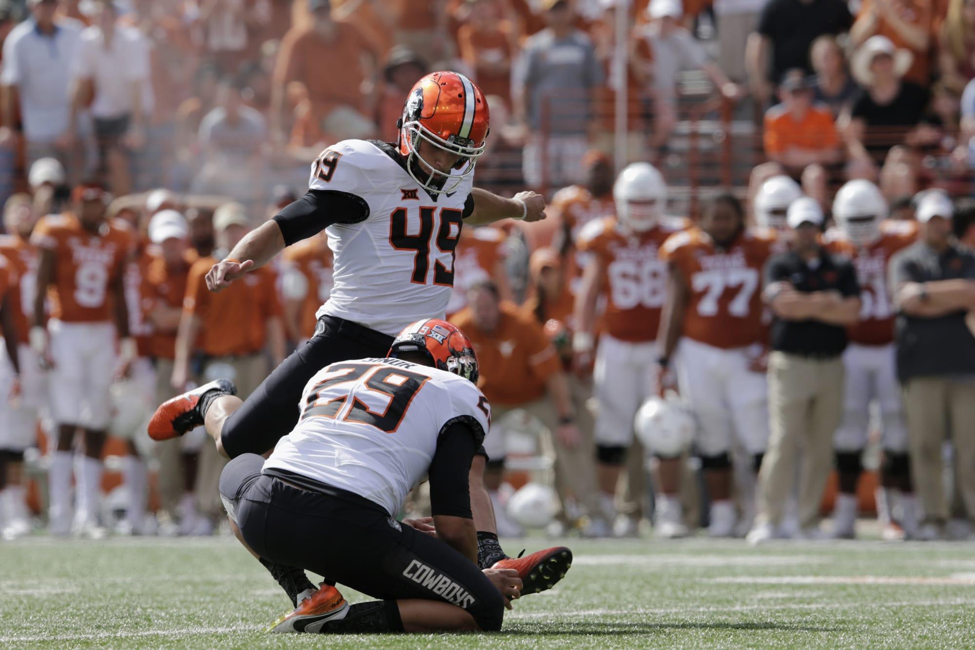 Texas Football: Field goal margins decide OK State wins ...