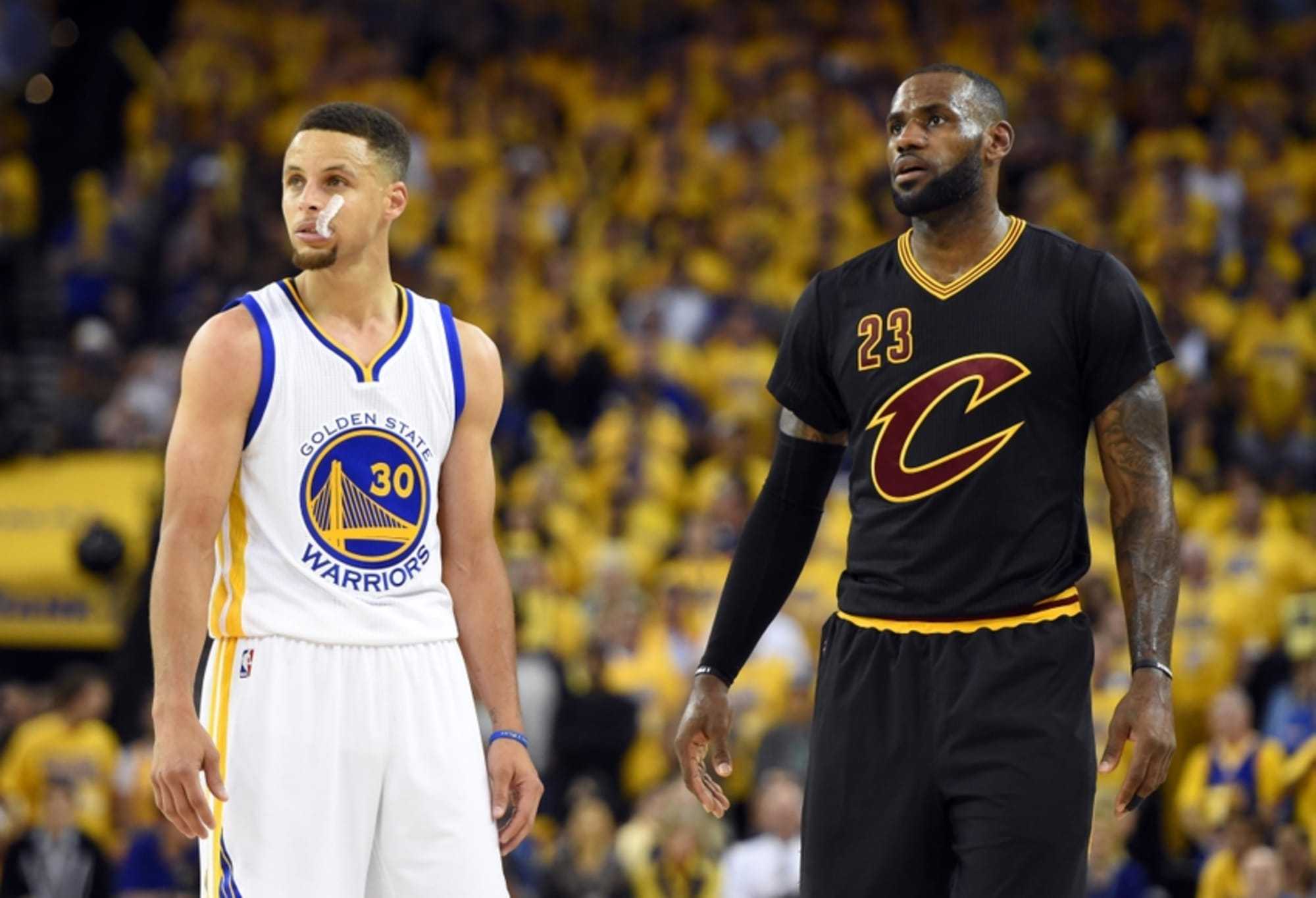 cleveland cavaliers vs warriors betting line