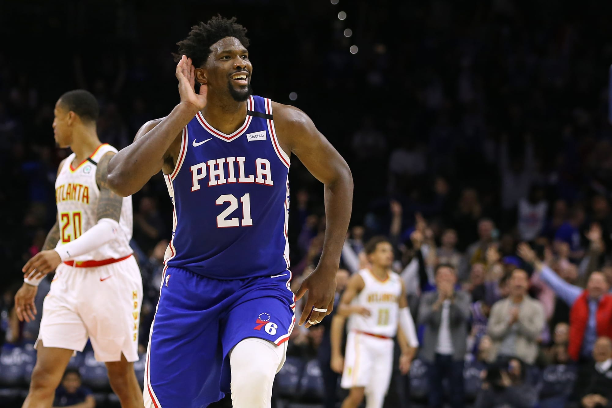 The Sixers will go as far in the playoffs as Joel Embiid carries them