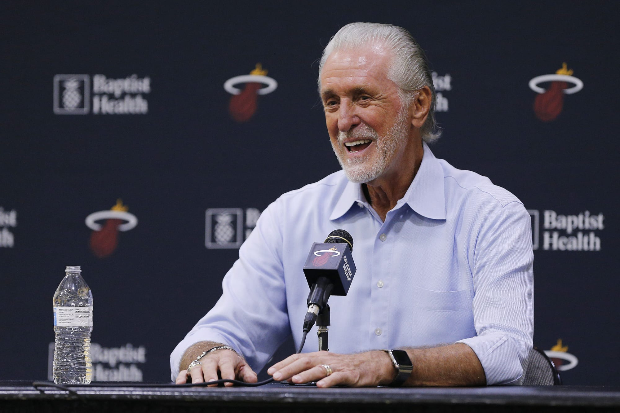Miami Heat: Pat Riley and Erik Spoelstra aren't on the same page