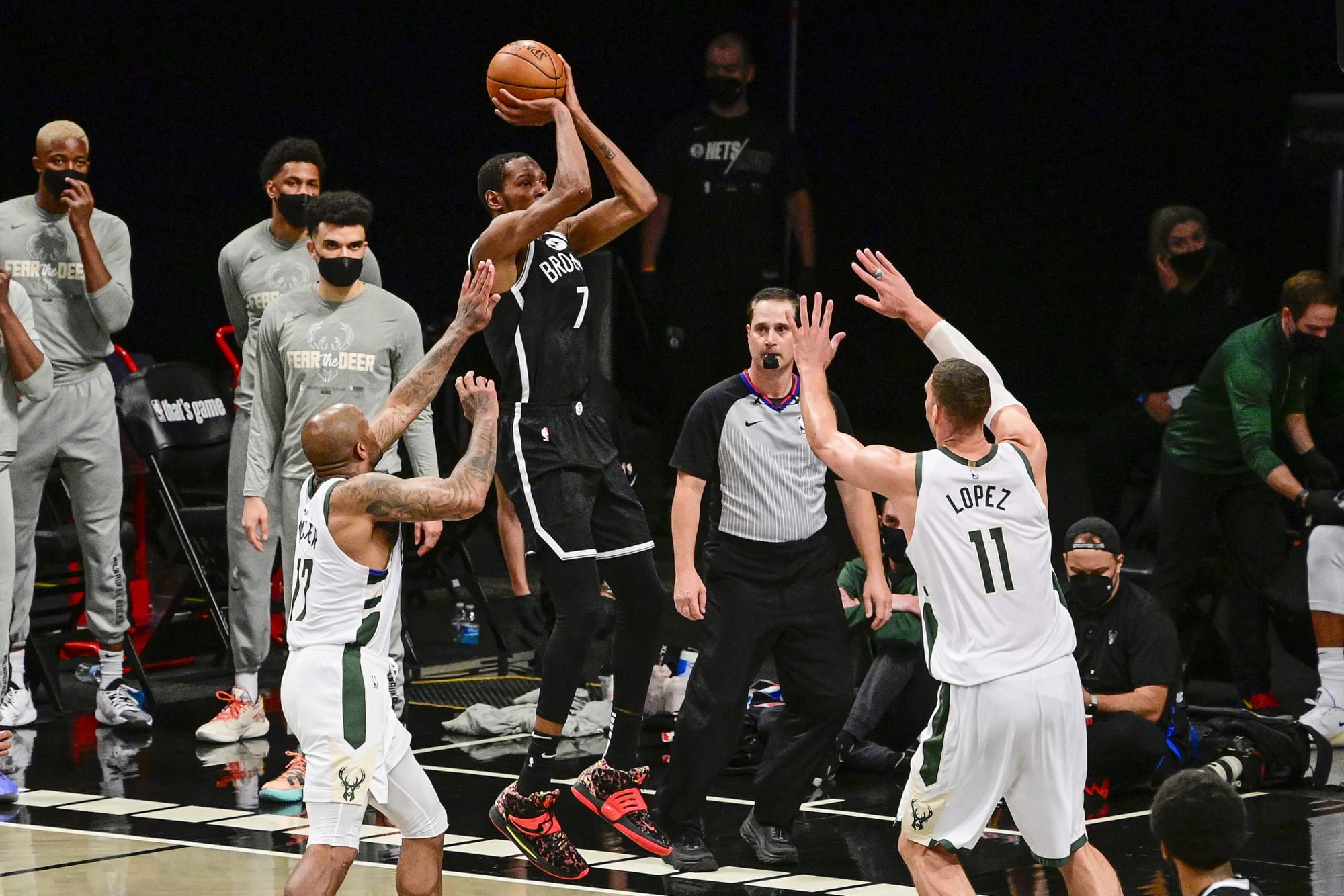 """Brooklyn Nets: Kevin Durant and the need to redefine """"mid-range"""""""