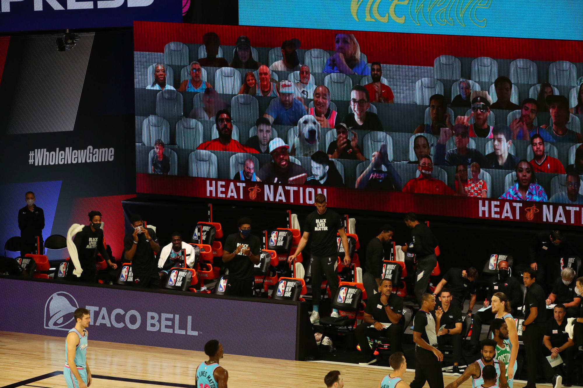 What is it like being an NBA bubble virtual fan and is it worth doing?
