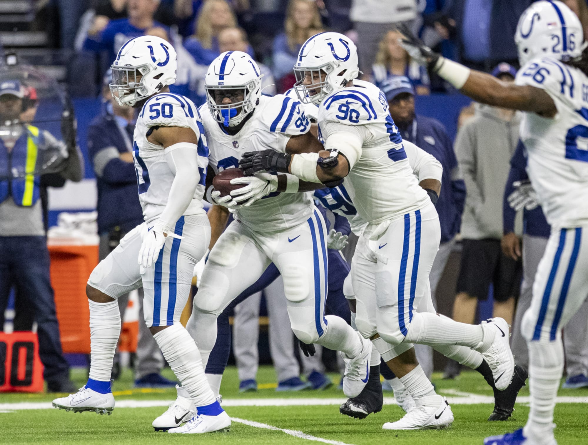 The Colts' offseason will soon be regarded as the best in the NFL