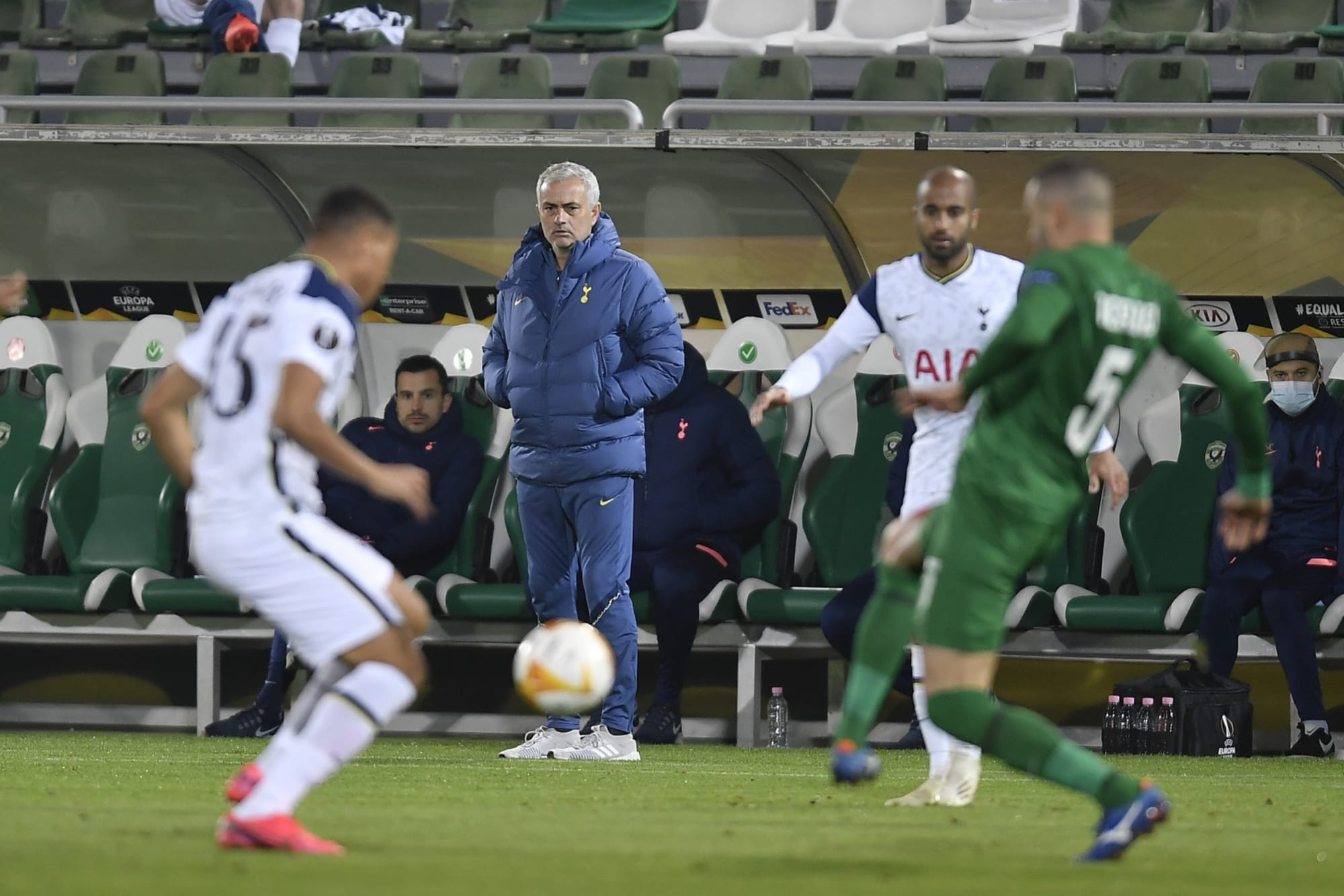 Tottenham Hotspur Projected XI for Ludogorets in Europa League