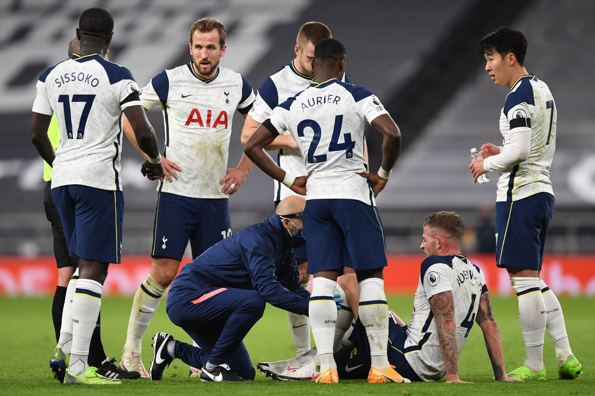 Alderweireld Just First Tottenham Injury with Upcoming Games