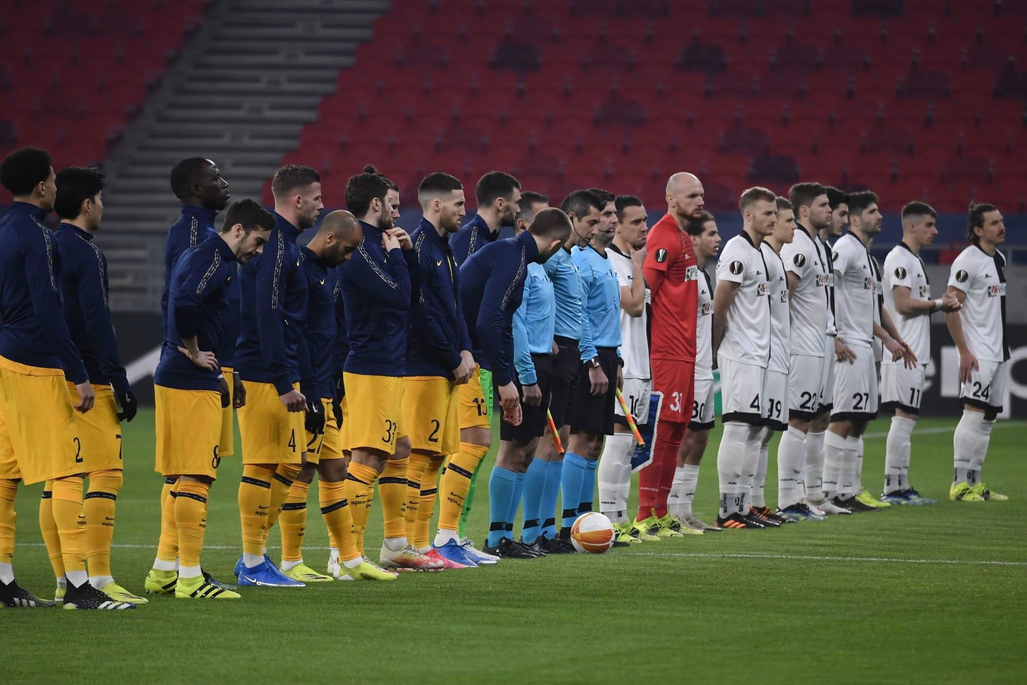 After Saturday results Tottenham Hotspur controls Europa League destiny