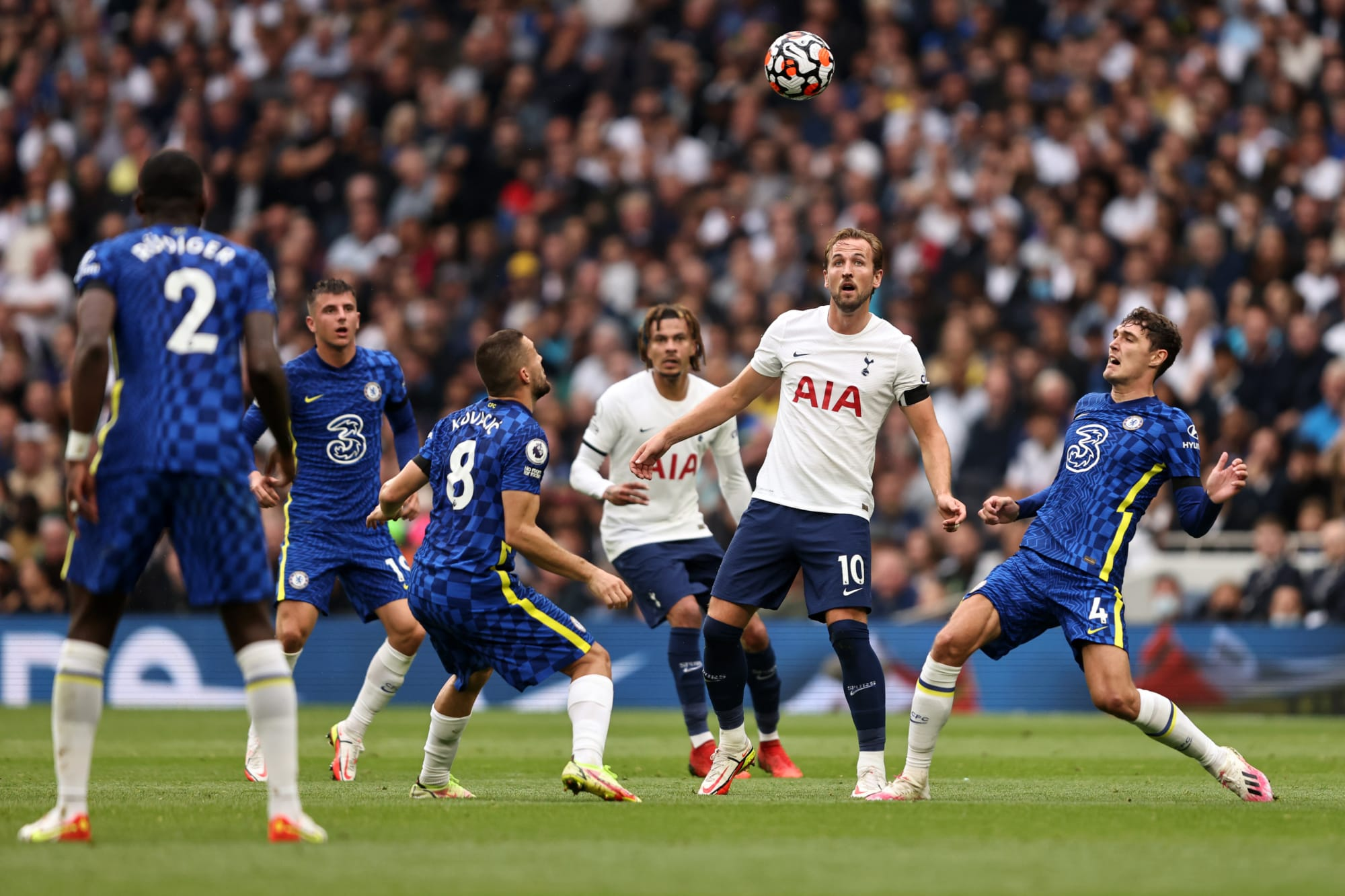 Tottenham Hotspur player ratings in a tough loss to Chelsea 0-3