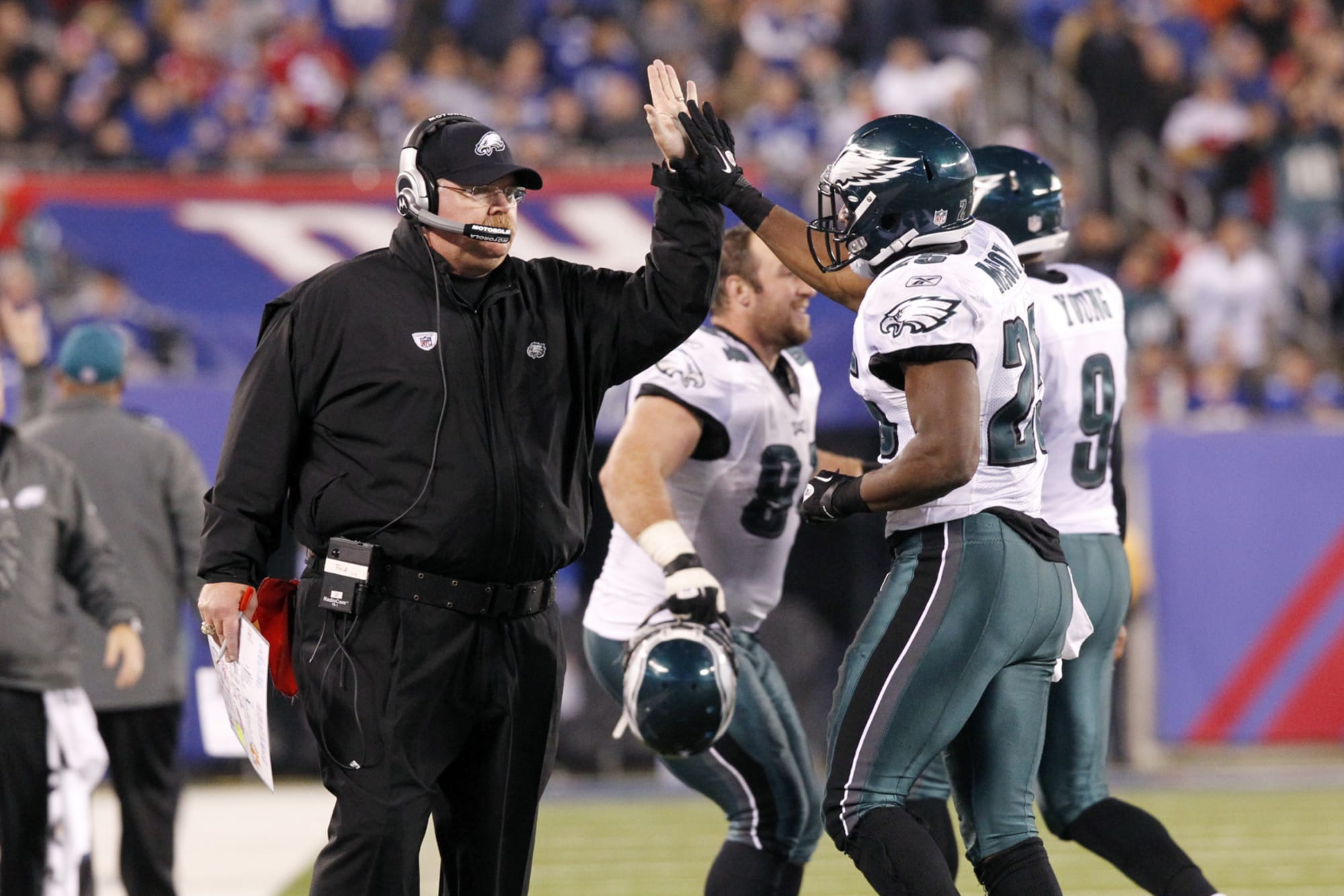 Philadelphia Eagles: Here's where Kelly and Reid edge Pederson