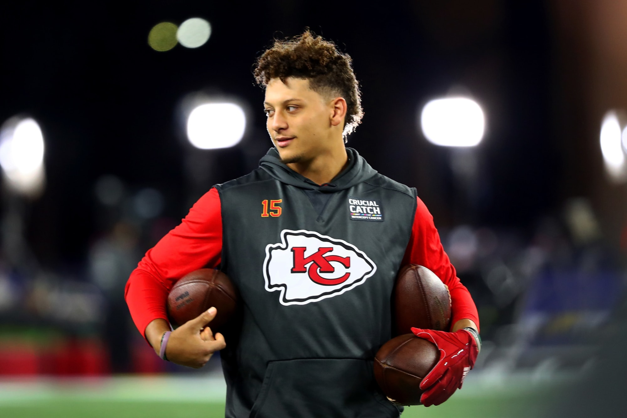 First Thing S First Is Off On Patrick Mahomes Versus Carson Wentz