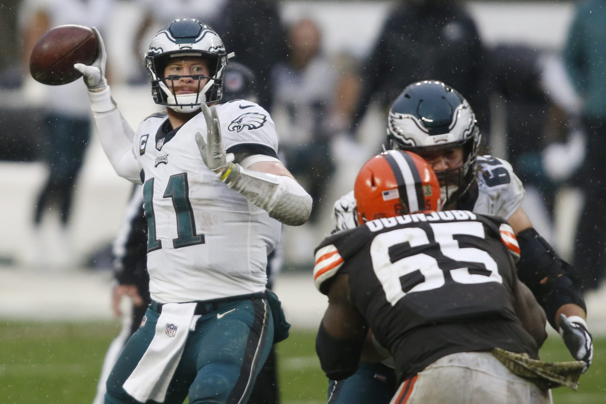 Philadelphia Eagles debate table: Why does this offense feel shorthanded?