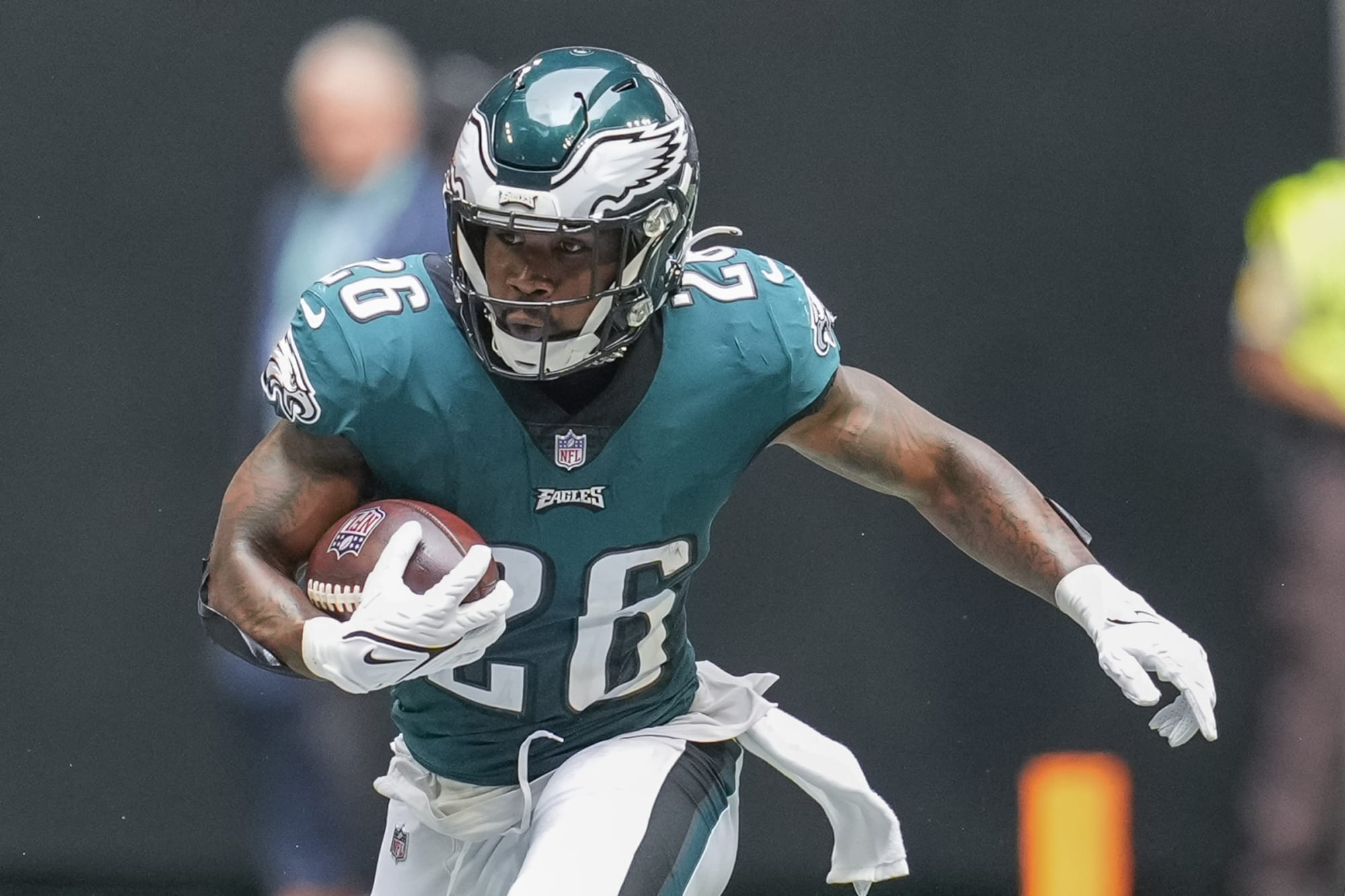 Eagles RB Miles Sanders will be better long-term than Saquon Barkley