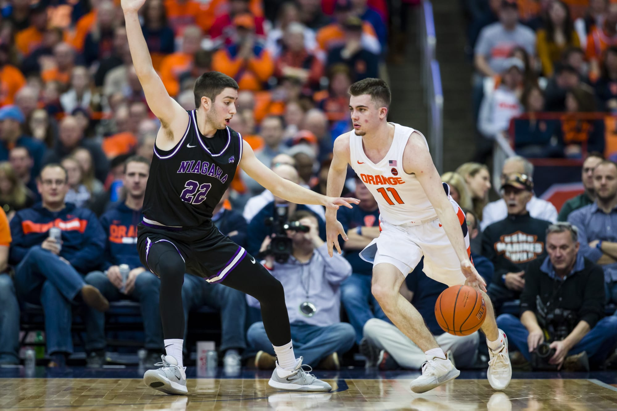 Syracuse basketball is the best team in a competitive New York state