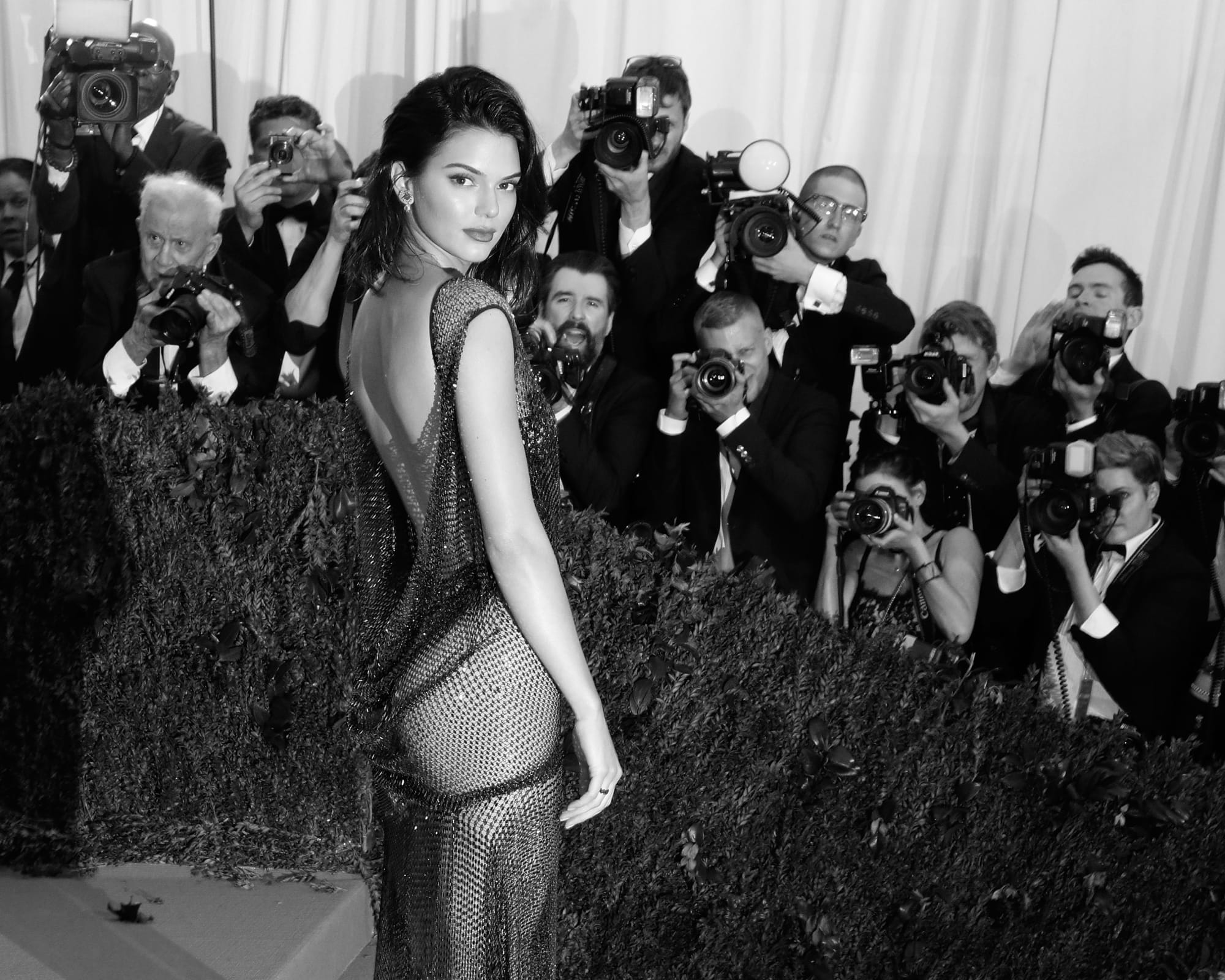 Kendall Jenner poses topless in stunning new Chanel cover shoot