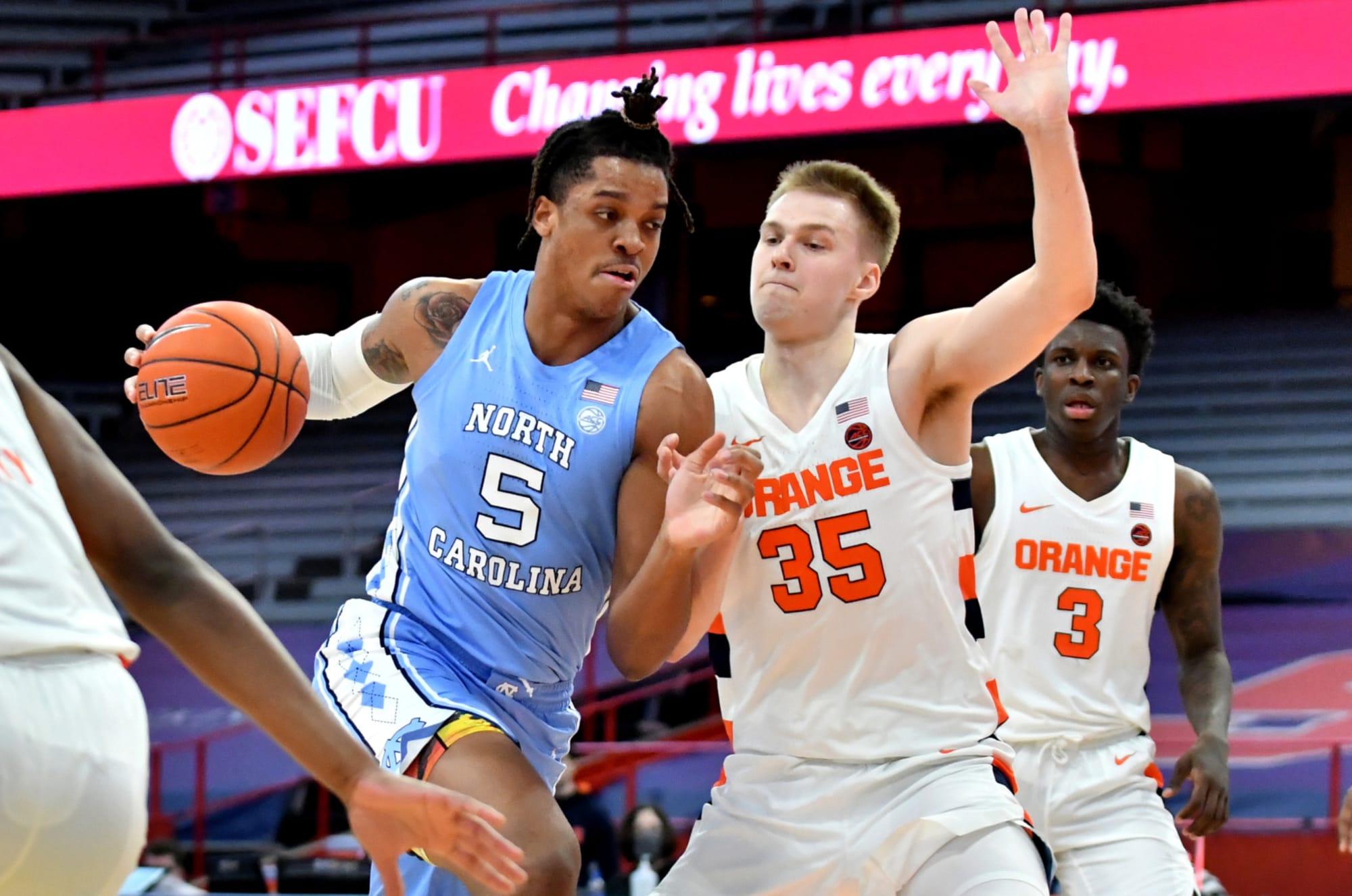 UNC Basketball: Tar Heels fall in ESPN's Bracketology