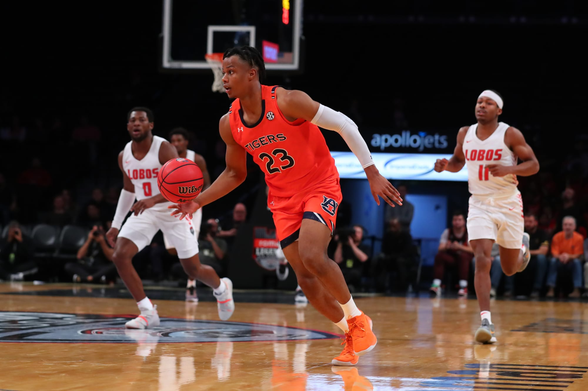 2020 NBA Draft prospect Isaac Okoro would be able to get to FT line often for Cavs