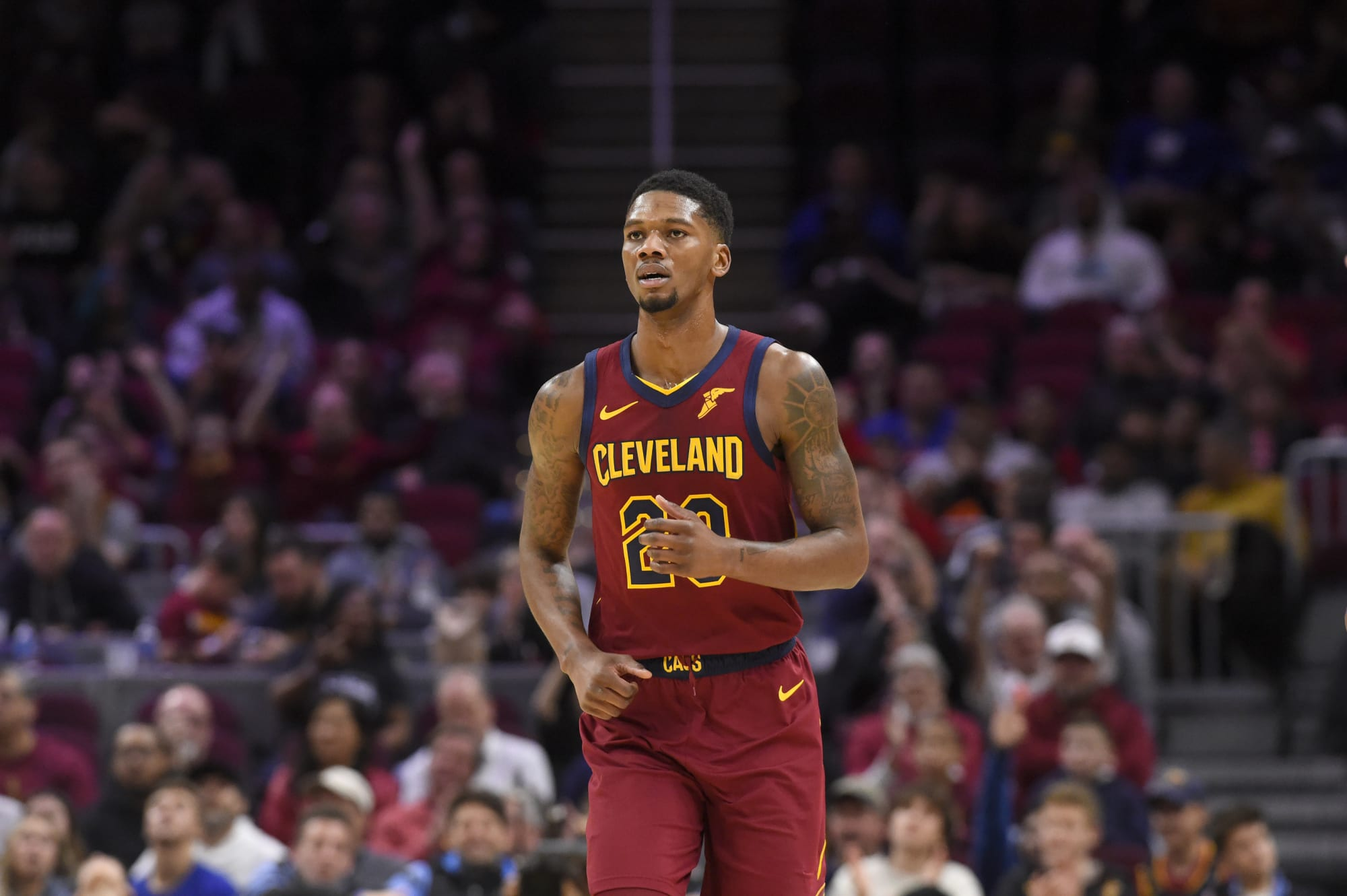 Alfonzo McKinnie could play more at 4 next season when he's in for Cavs